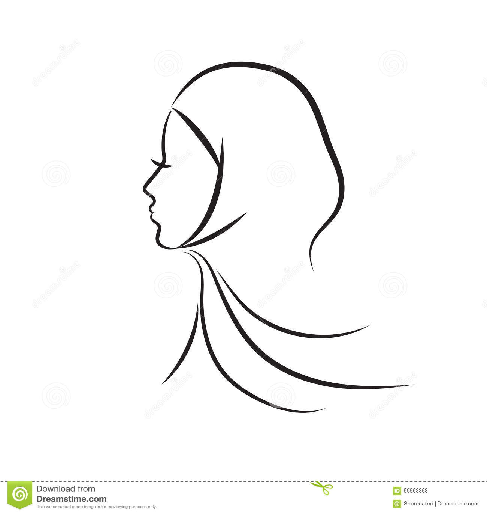 Мусульманская женщина