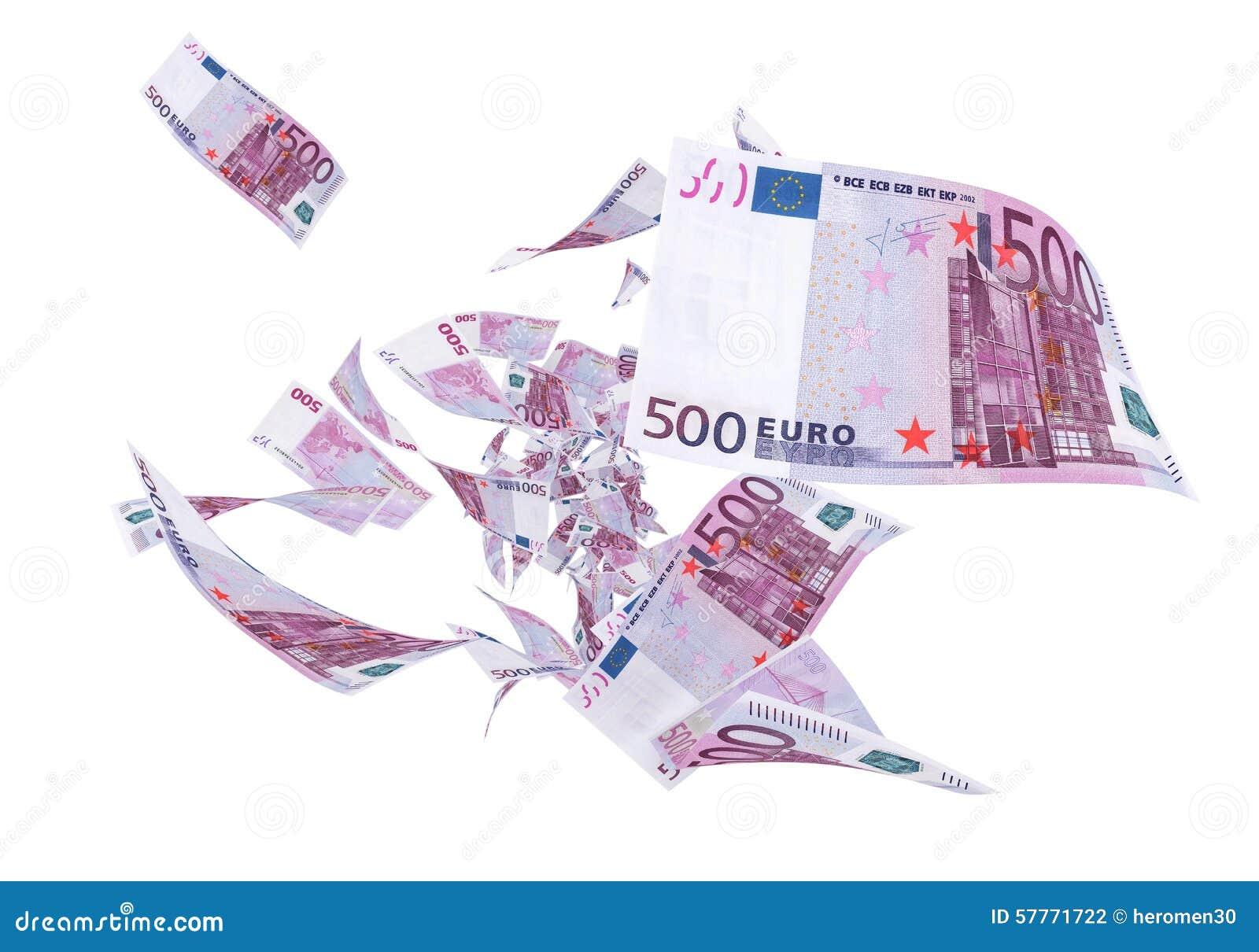 Муха 500 банкнот евро