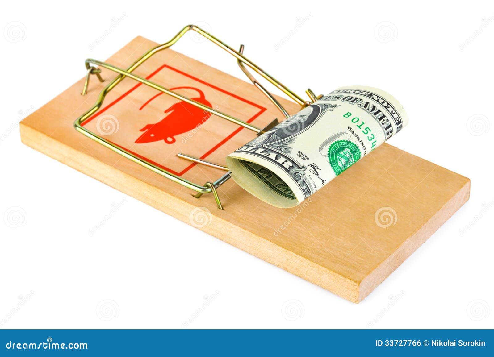 Мышеловка и деньги