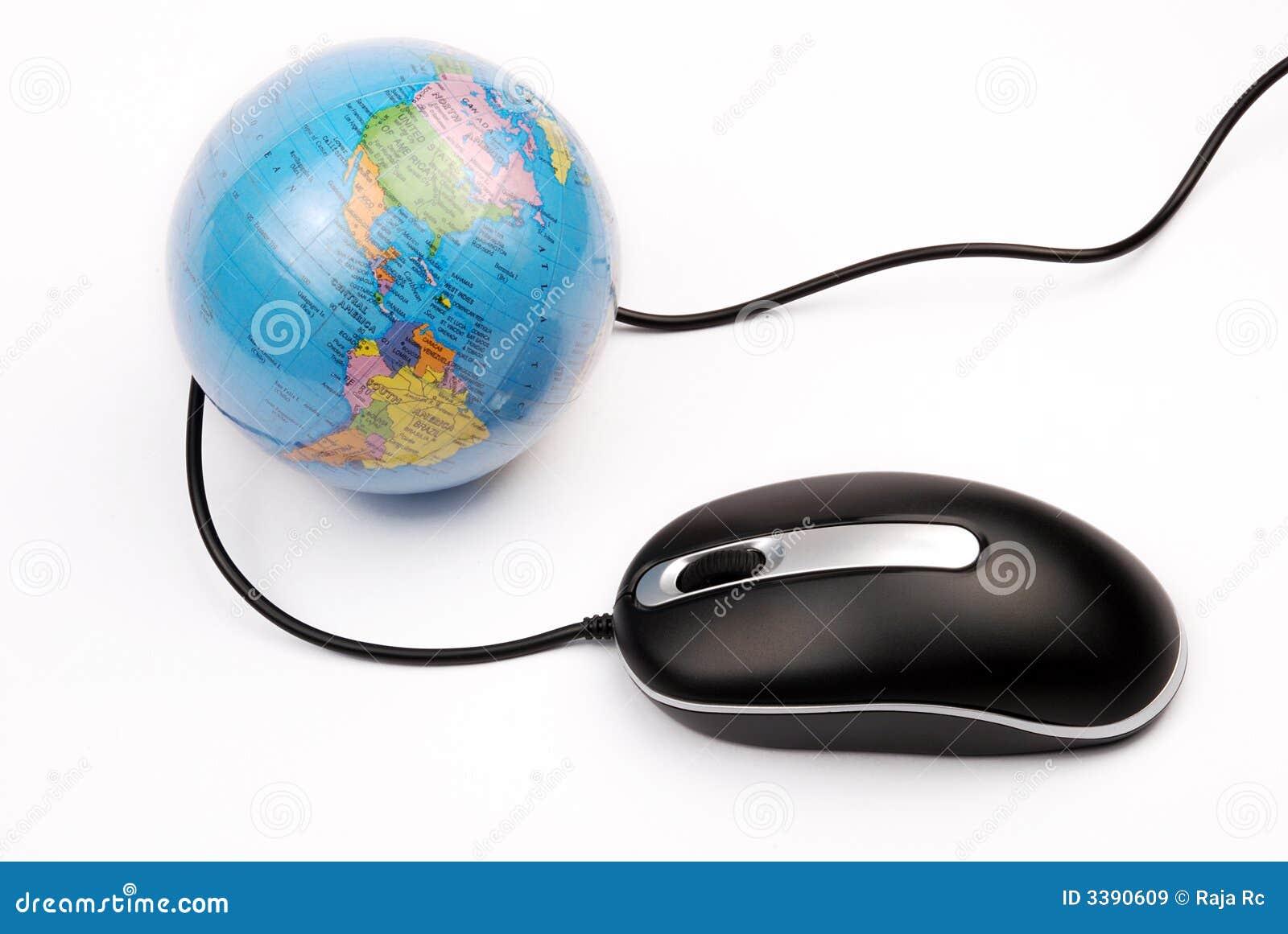 мышь глобуса