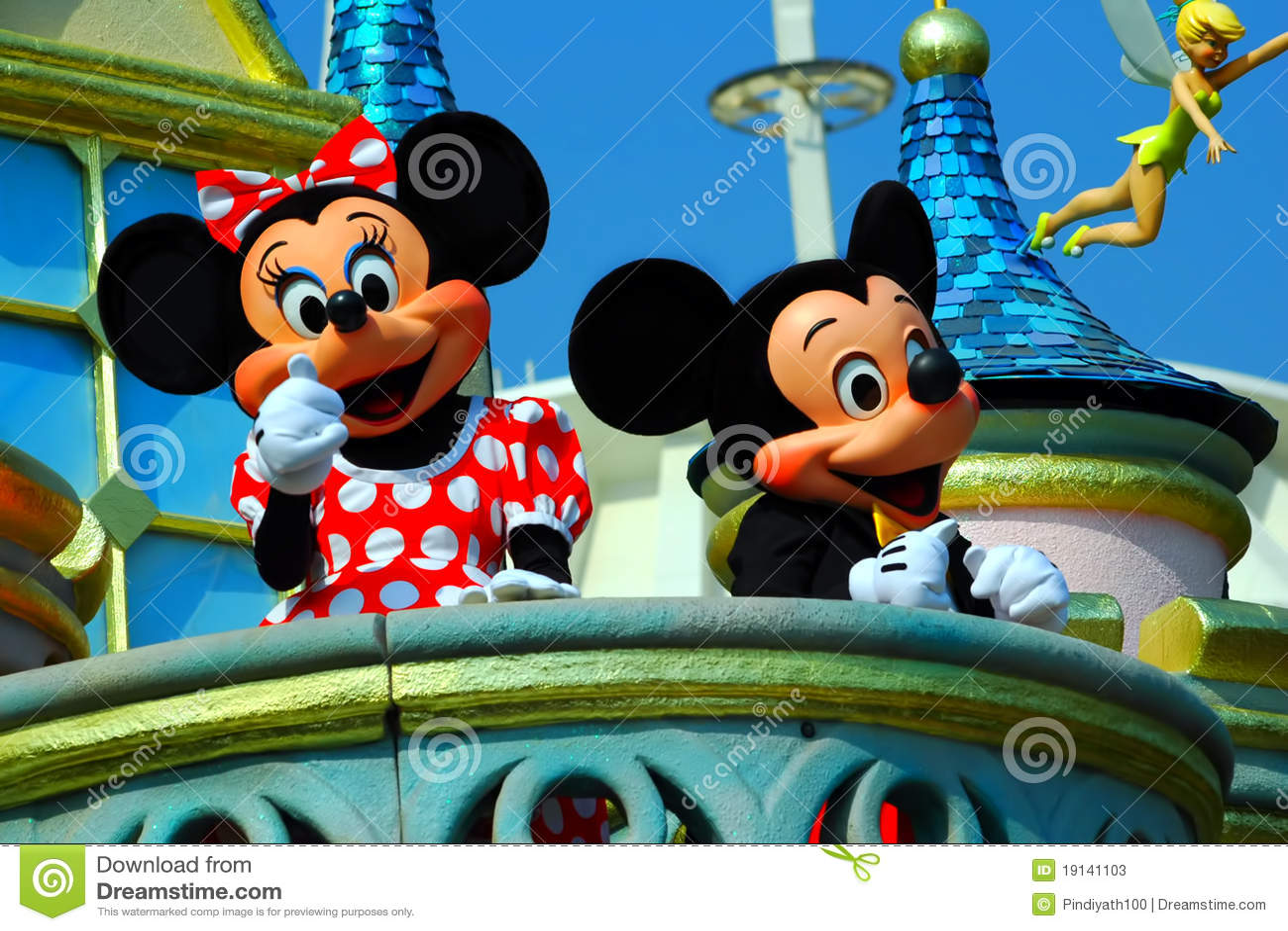 мышь minnie mickey