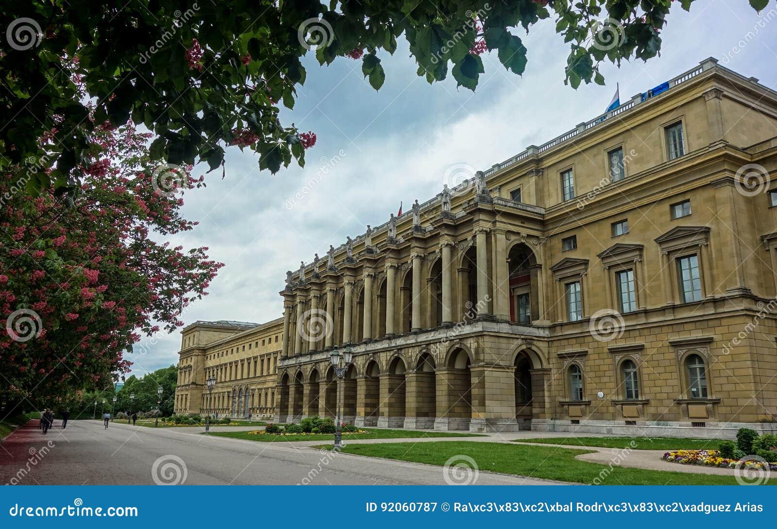 Мюнхен Residenz Мюнхена, Германии