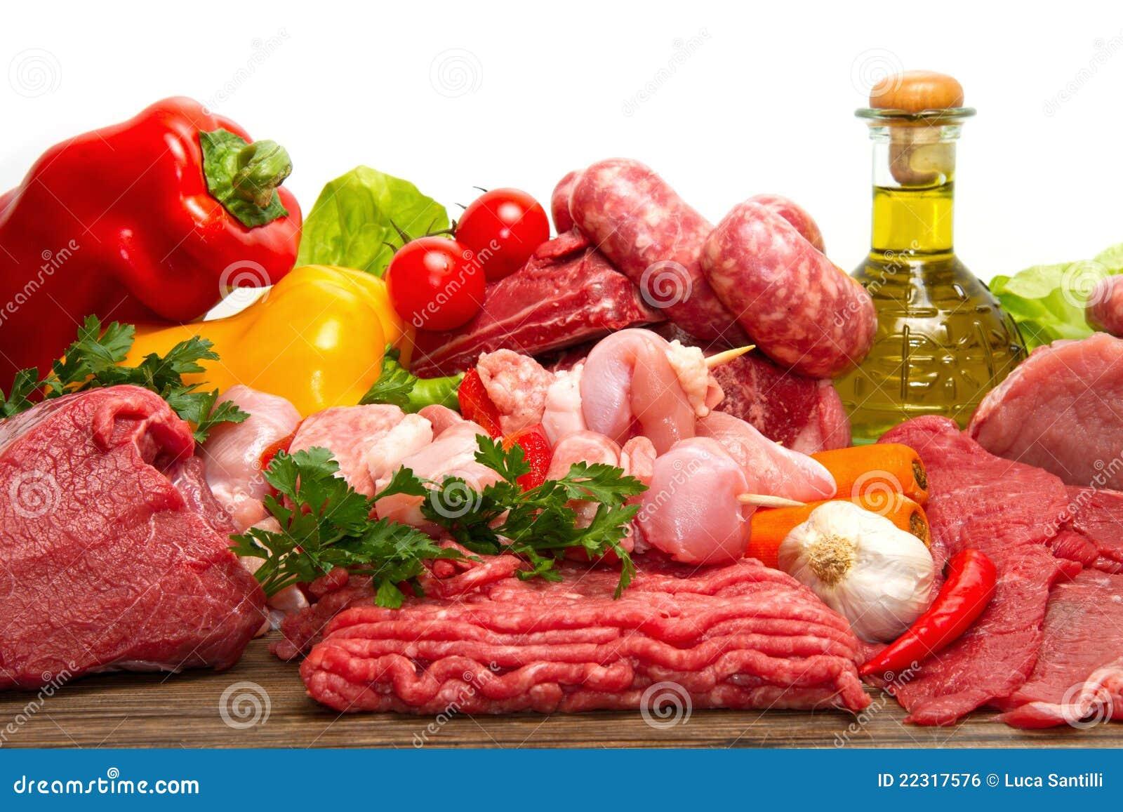 мясо сырцовое