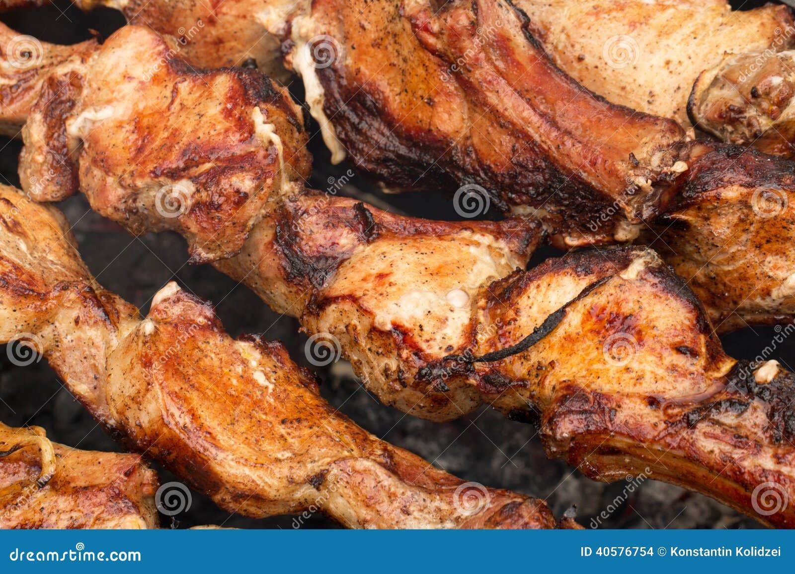 Мясо Bbq