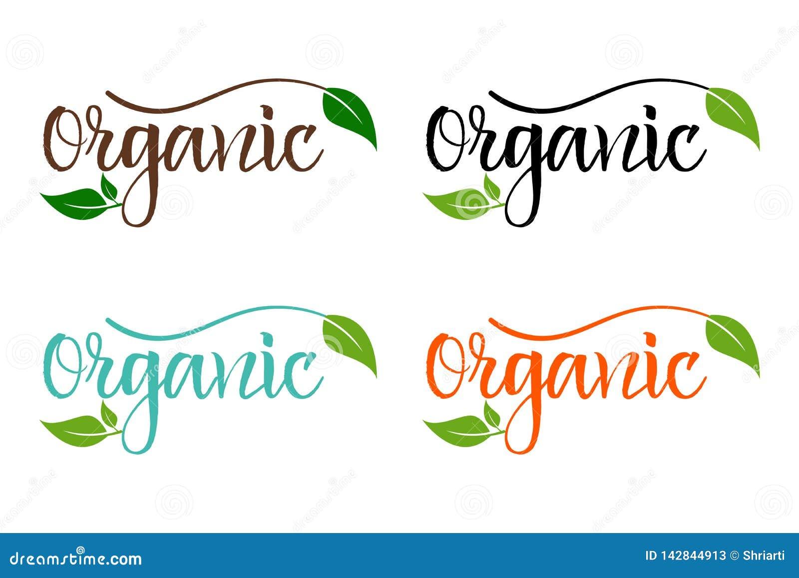 Набор био eco красочный для компании, производящ органические продукты