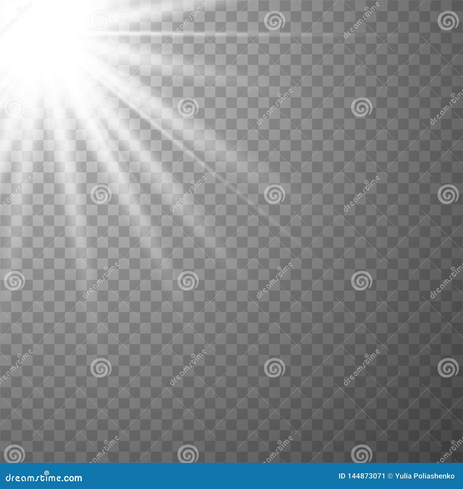 Светлый специальный эффект пирофакела