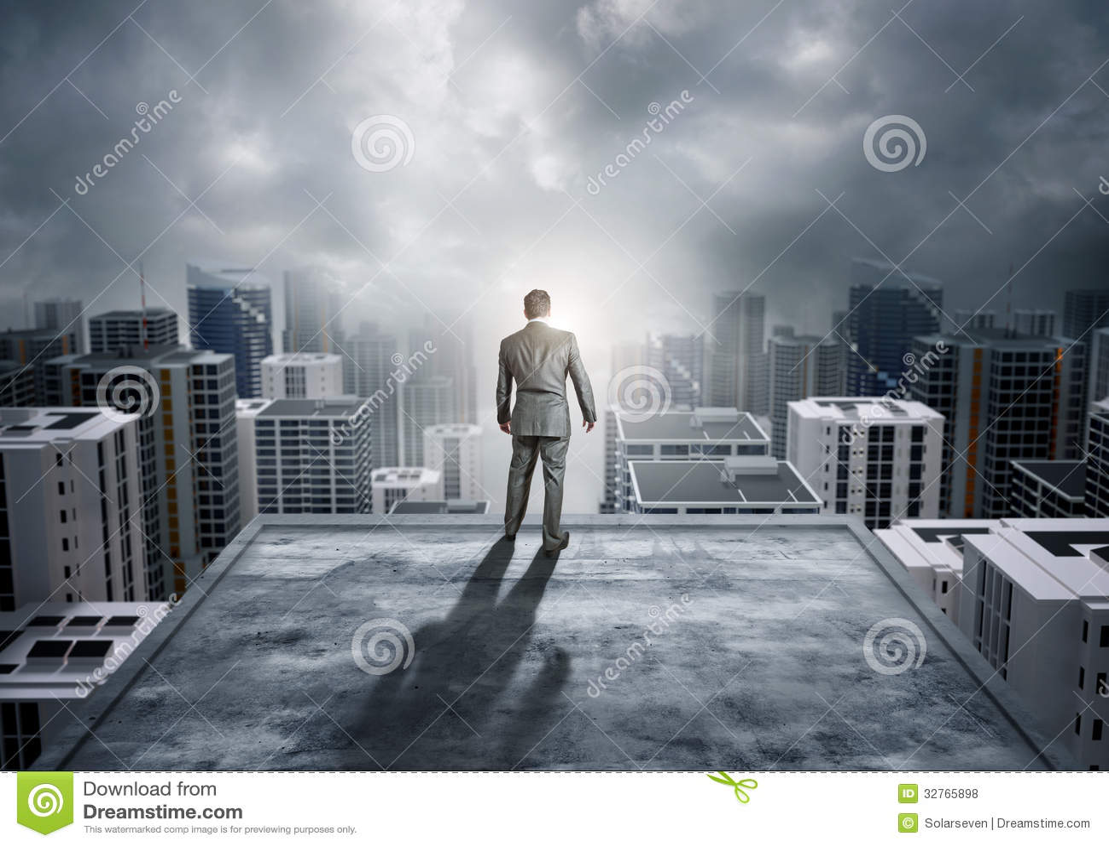 Наблюдать город