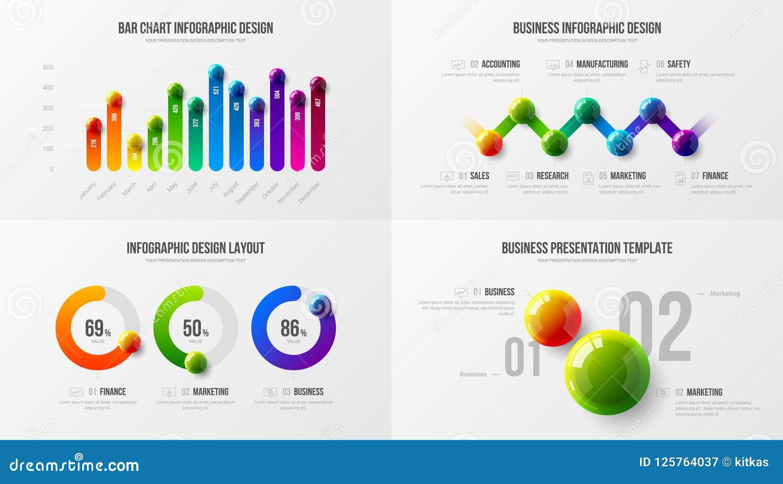 Наградной качественный шаблон иллюстрации вектора представления аналитика маркетинга План дизайна визуализирования коммерческих и