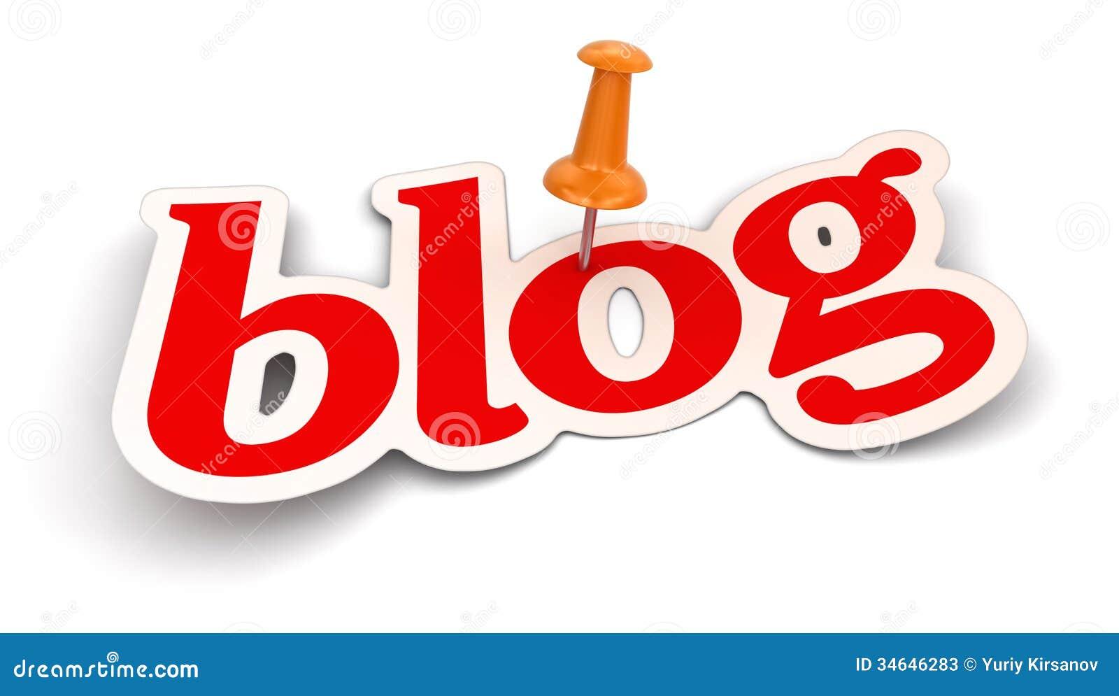 Нажмите Pin и блог (включенный путь клиппирования)
