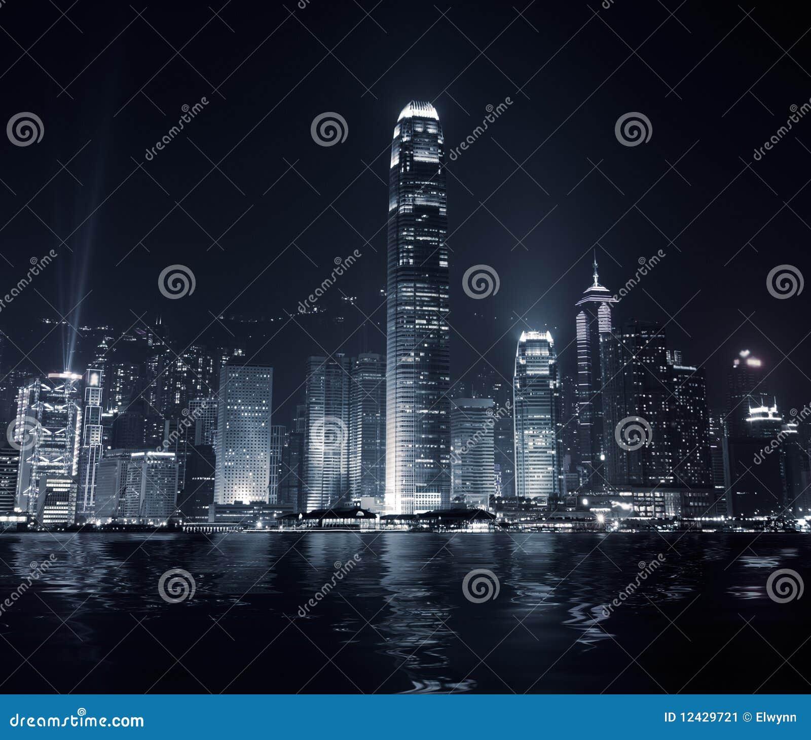 наземный ориентир Hong Kong города