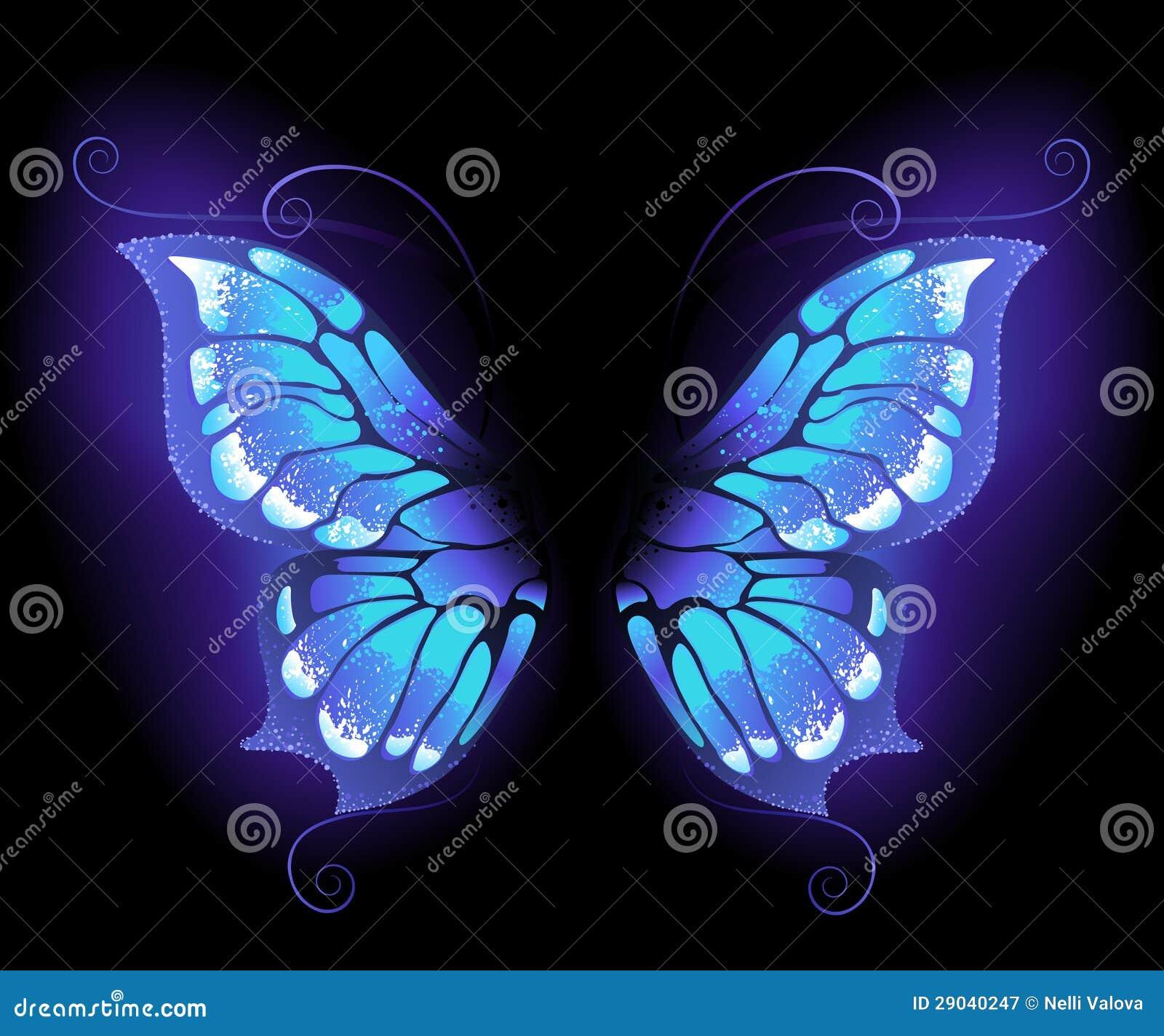 Накаляя крыла бабочки