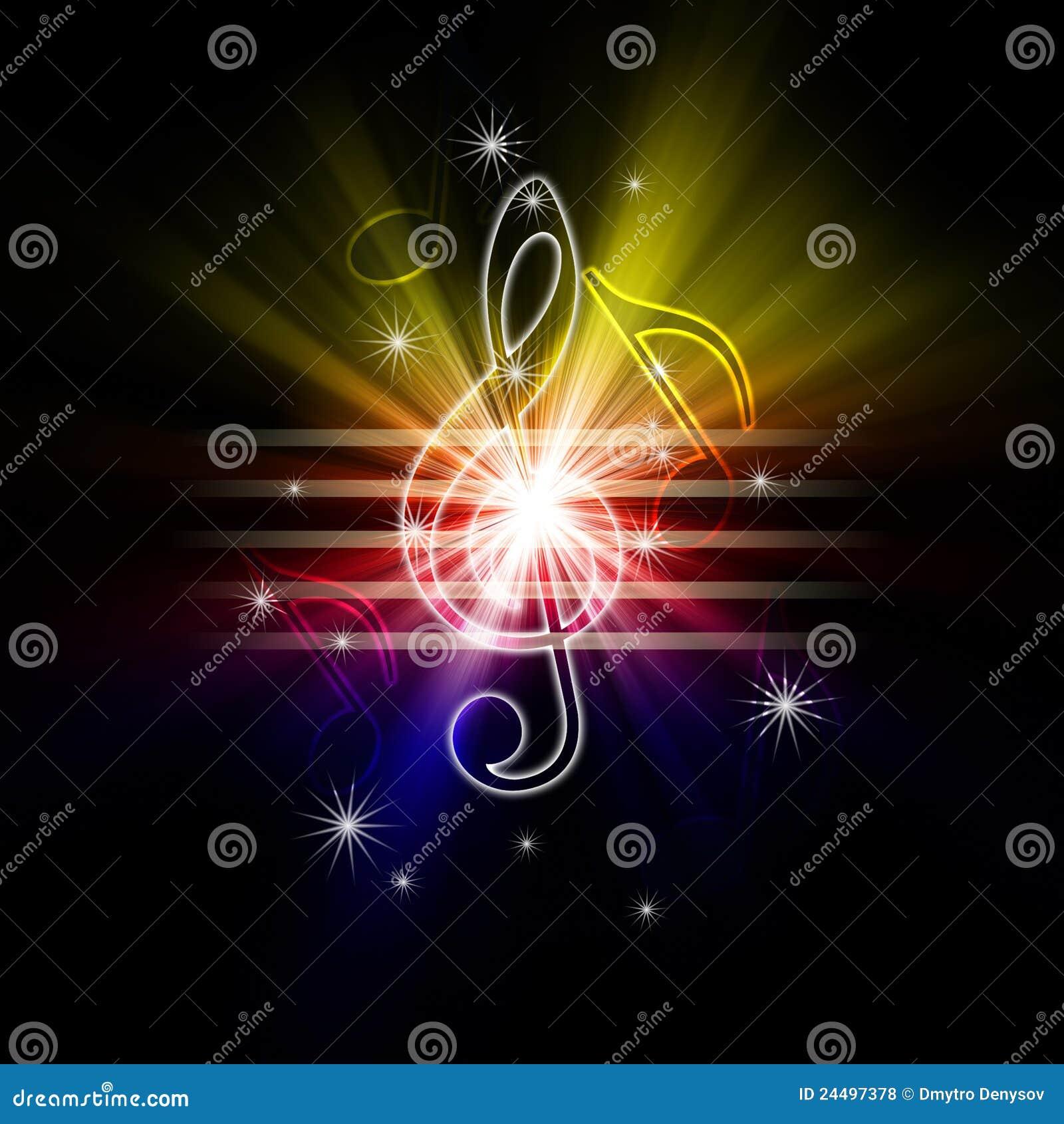 Накаляя музыкальные символы