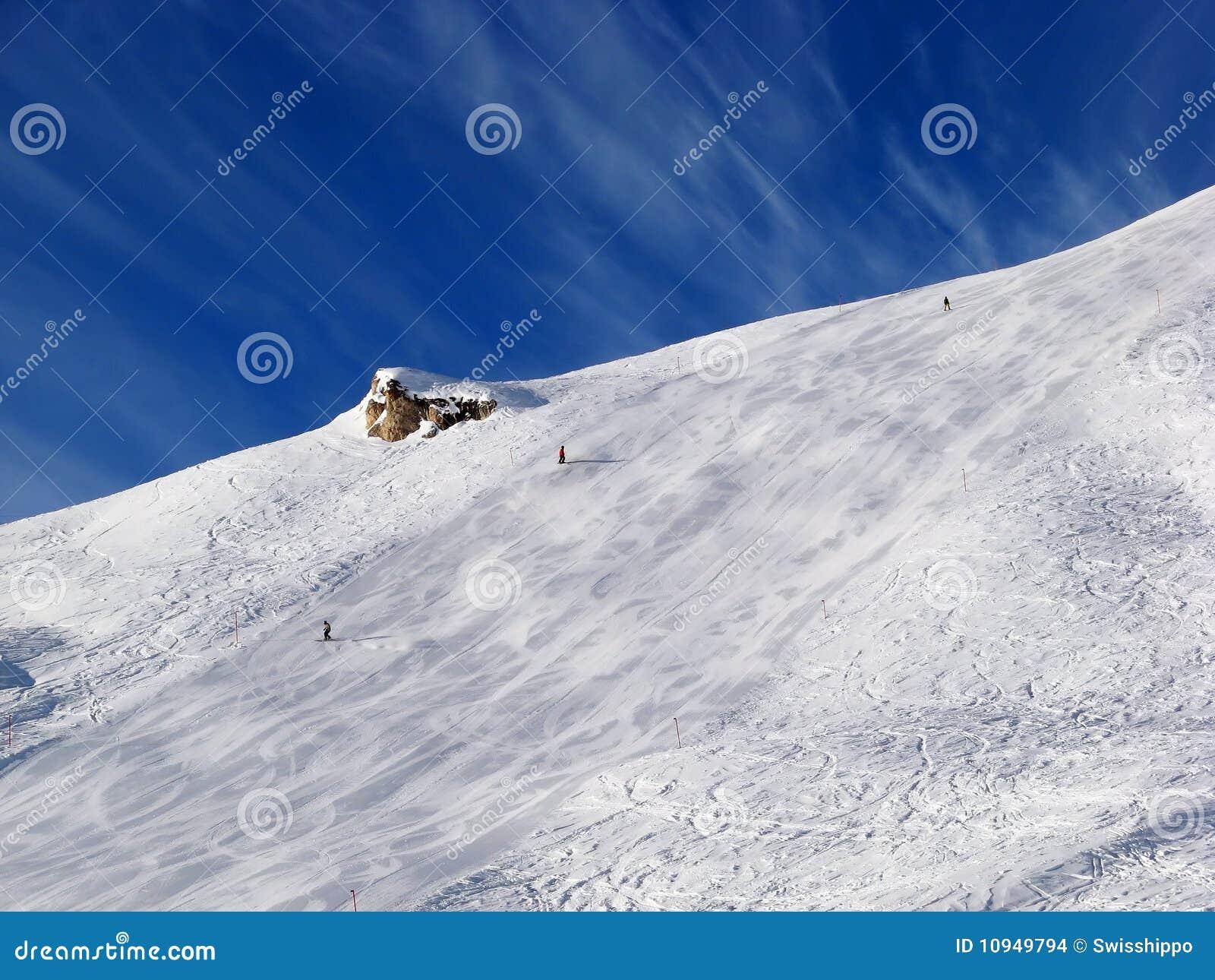 наклон skiin