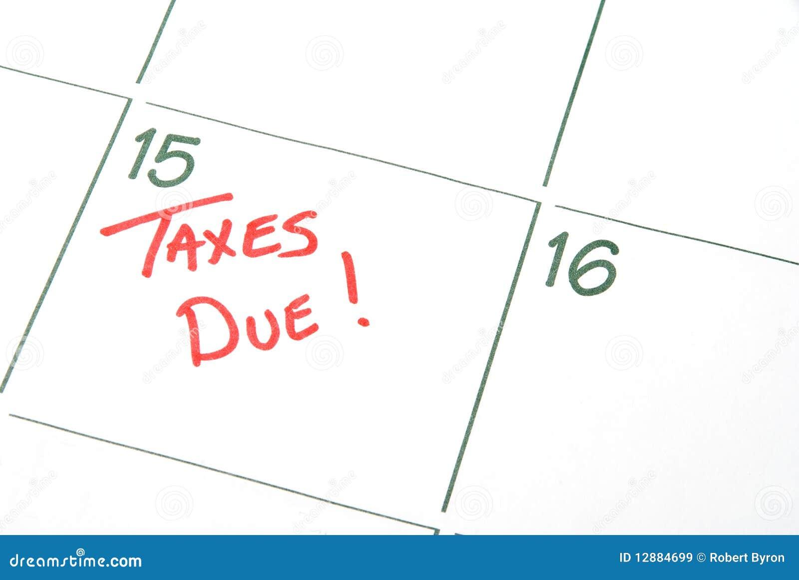 налог с наступившим сроком уплаты