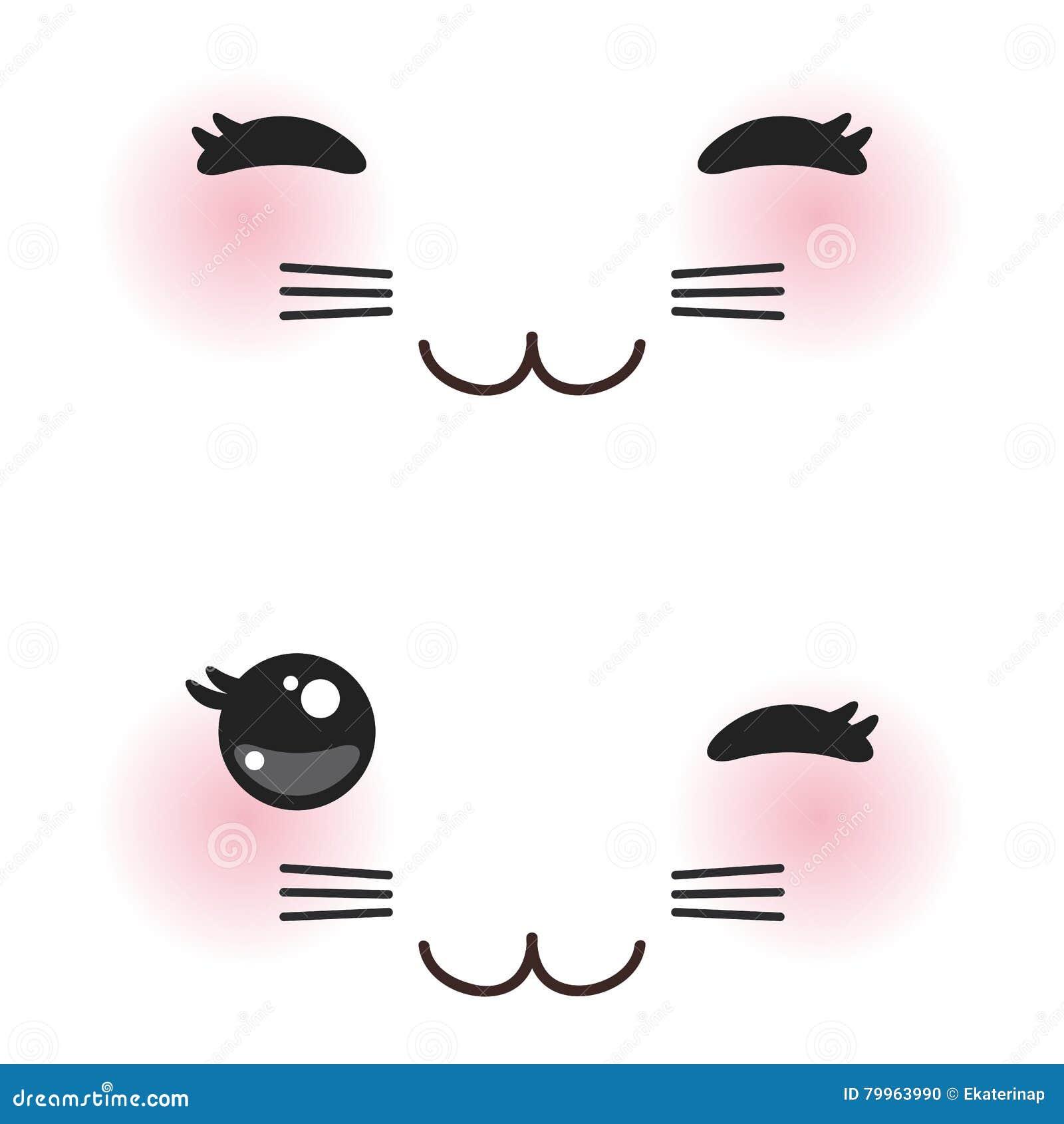 Картинки кота каваи