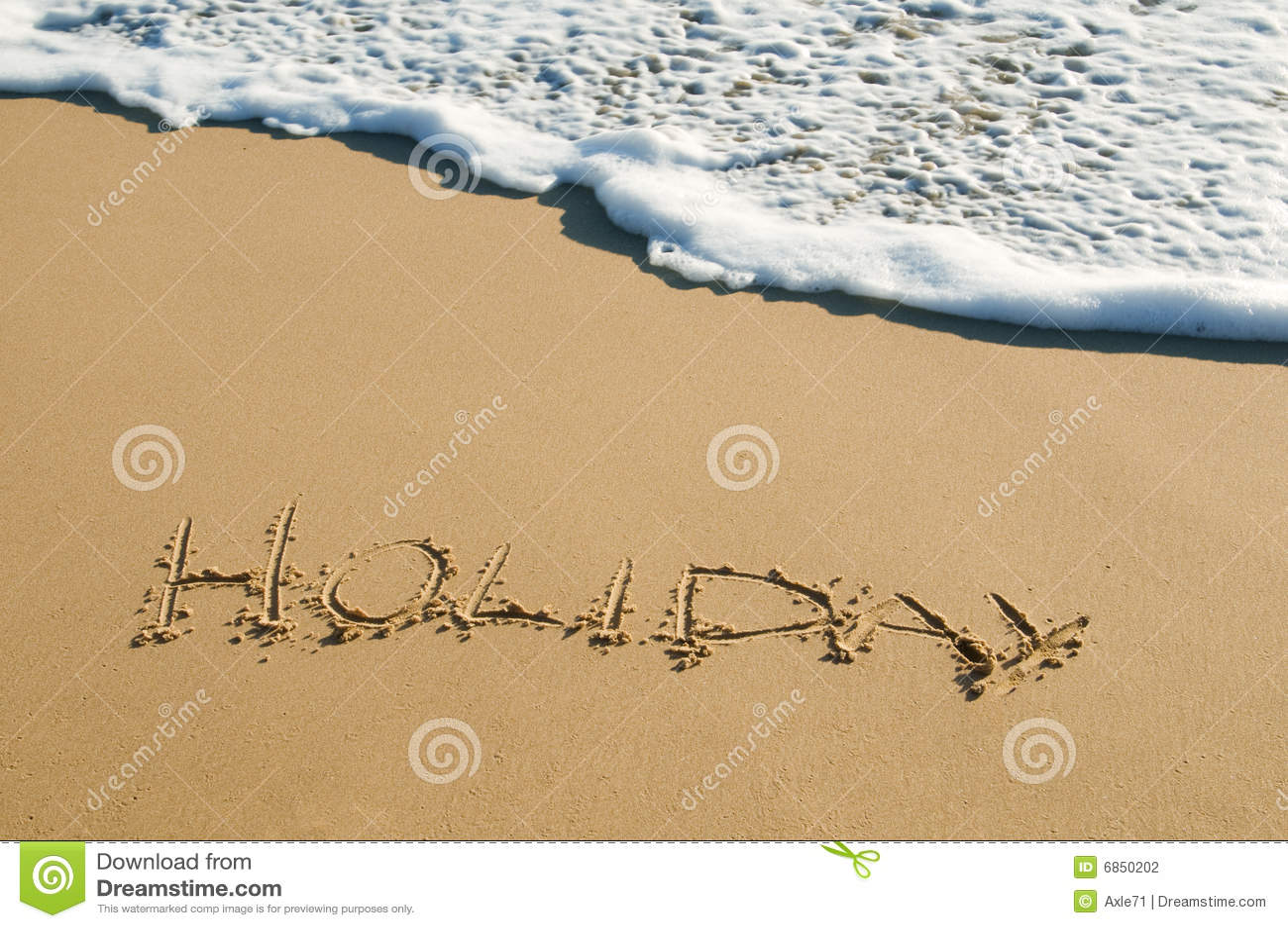 написанный песок праздника