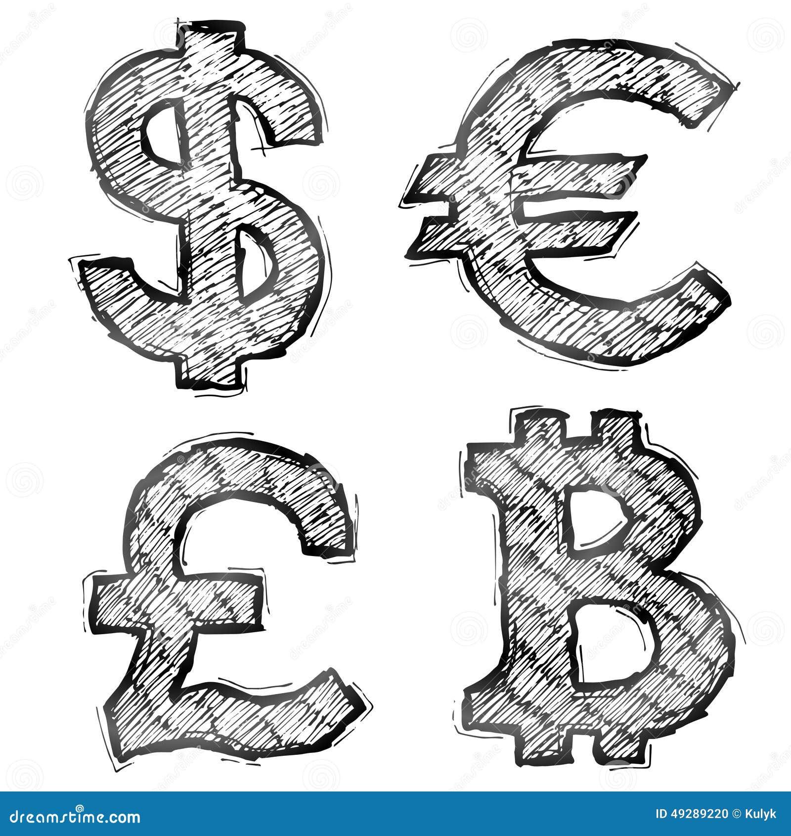 Доллар картинка как рисовать