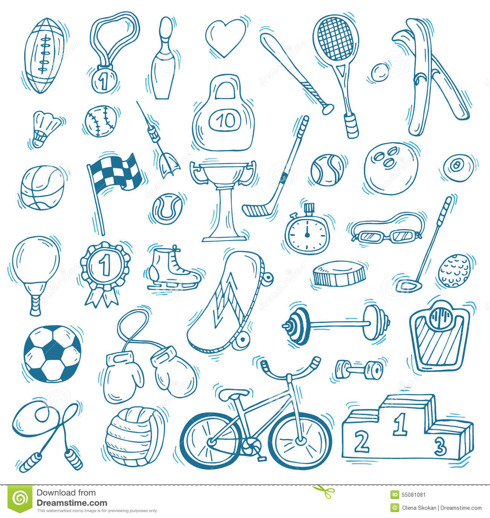 Нарисованный рукой комплект значка спорта вычисляет что пригодность несколько резвится детеныши женщины тренировки Здоровый уклад