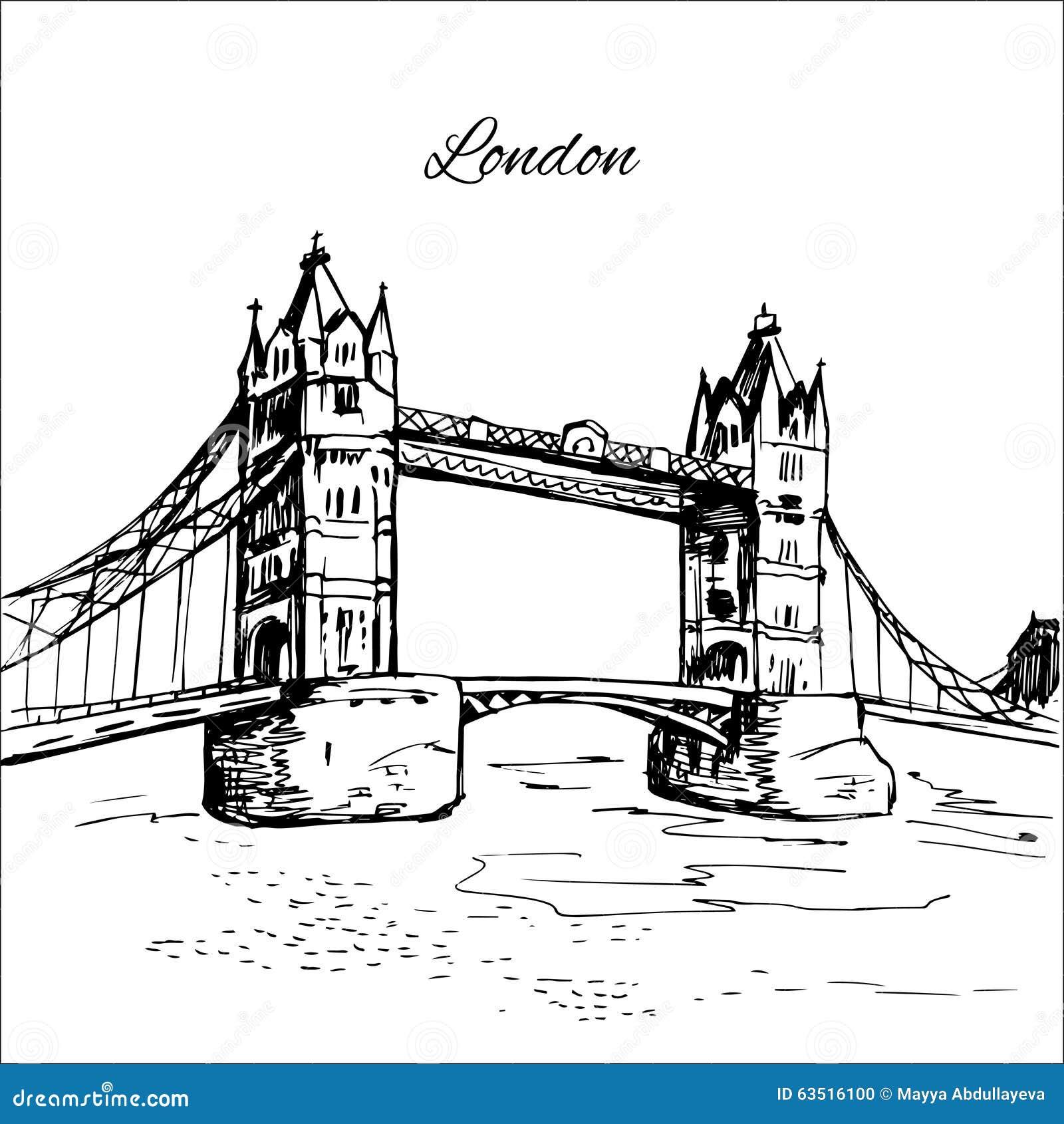 Кто нарисовал тауэрский мост