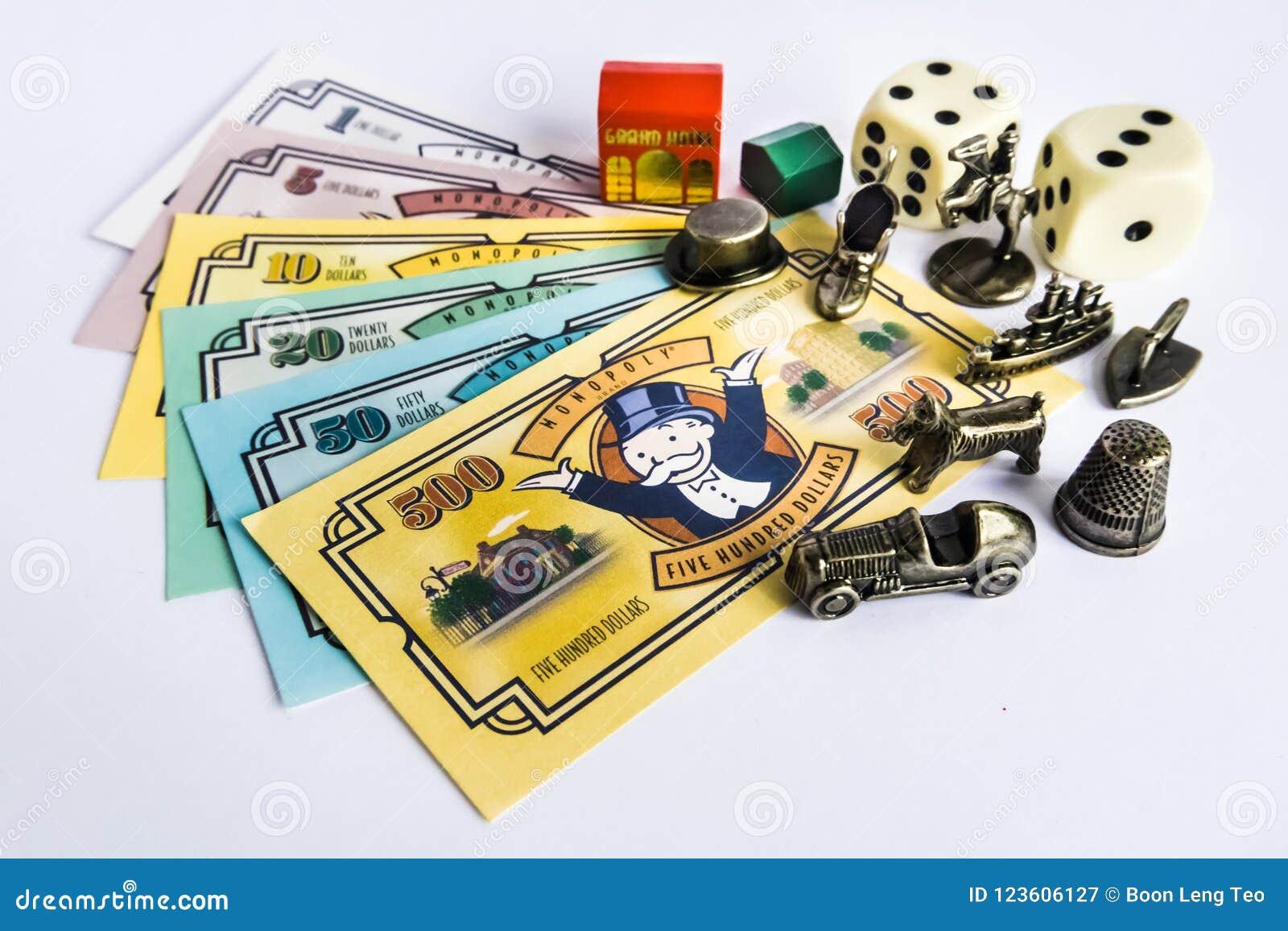 настольные игры монополия с деньгами