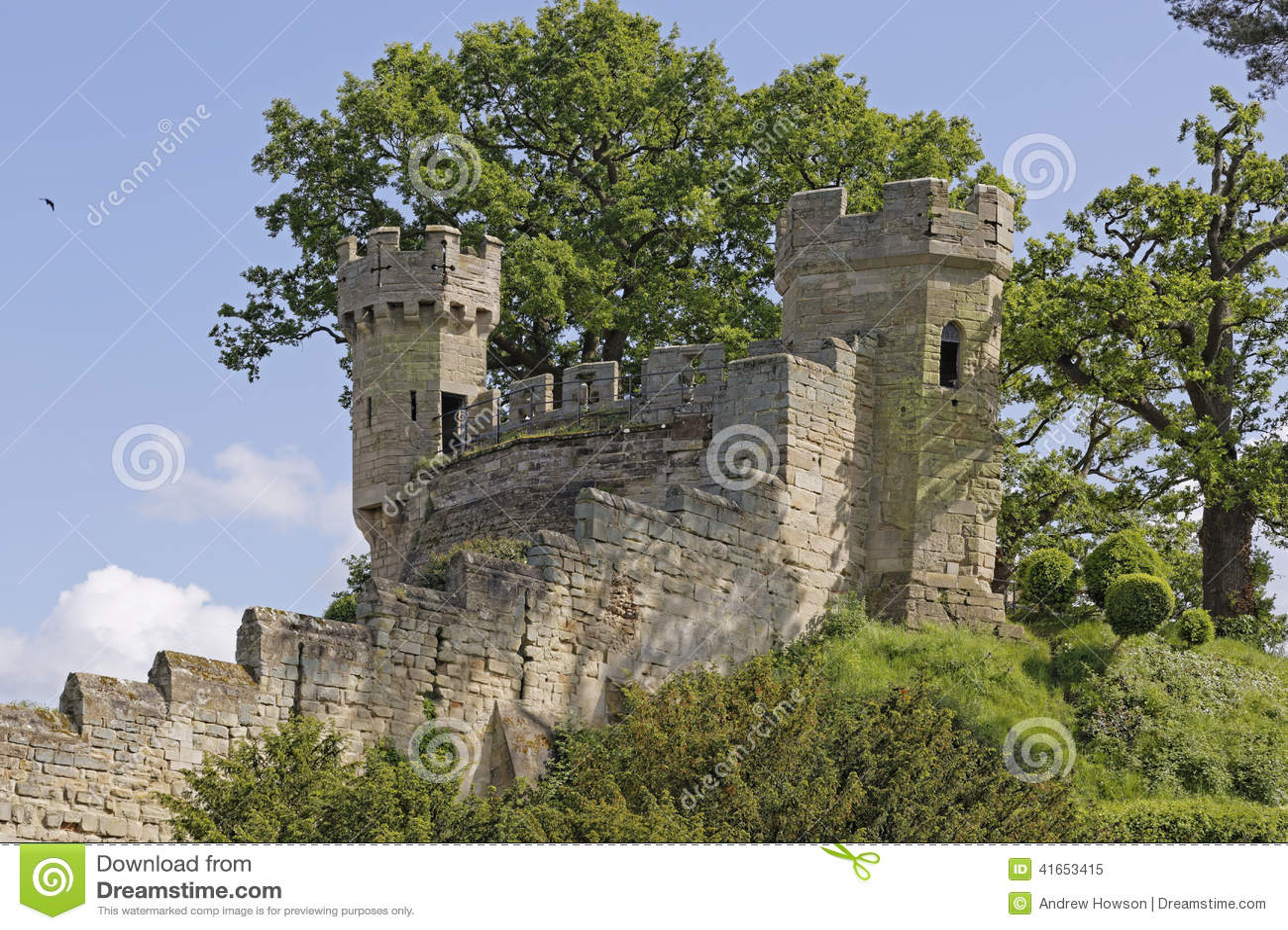 Насыпь - замок Warwick