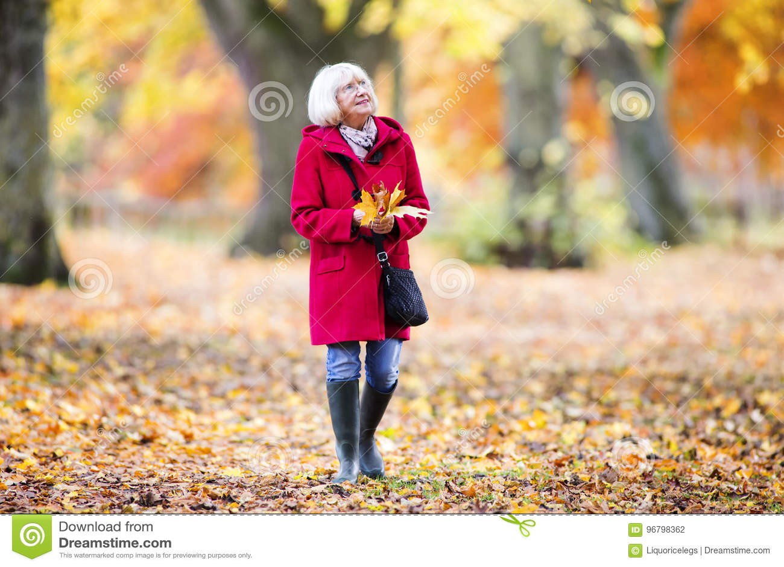 Наслаждаться прогулкой осени