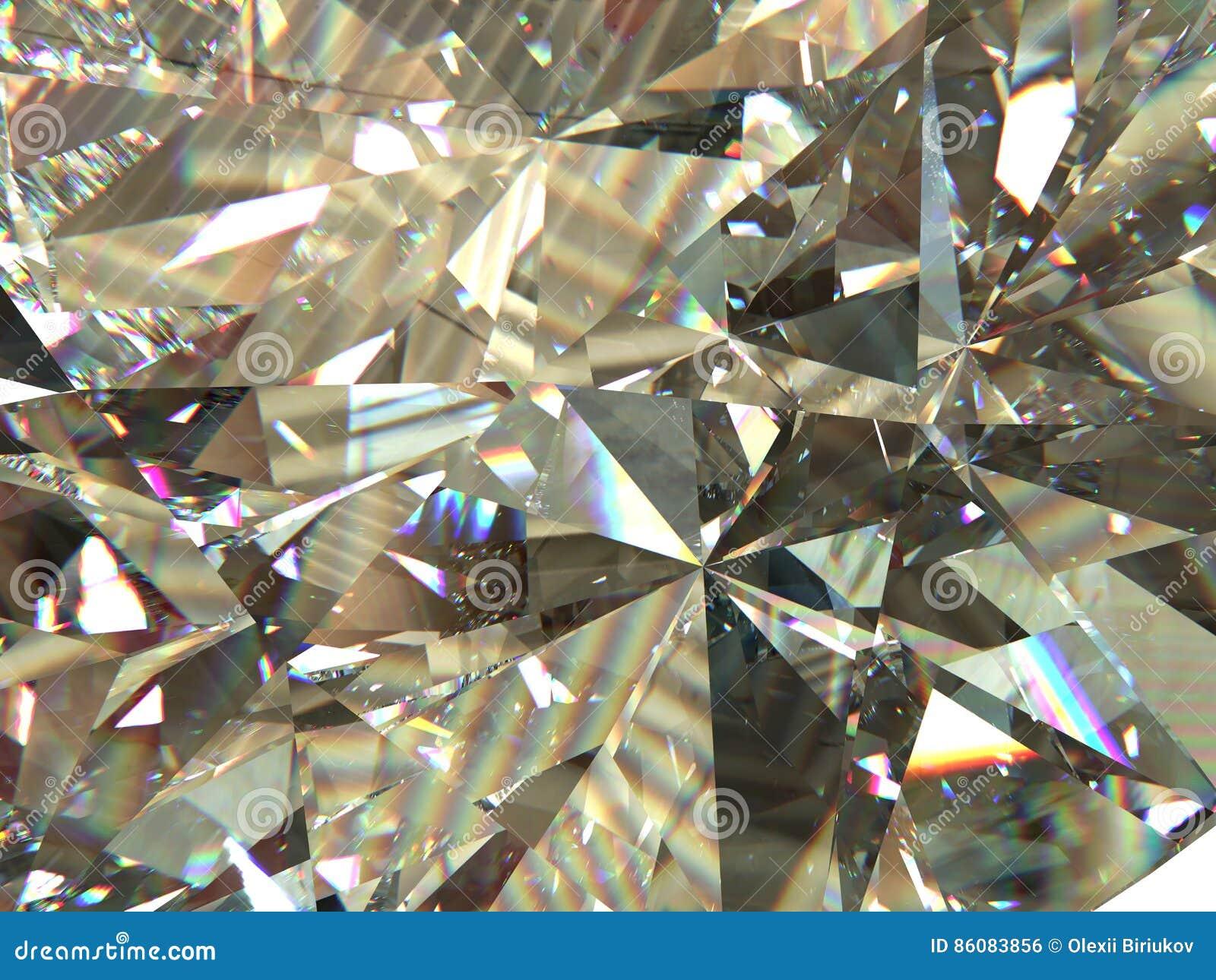 Наслоенные диамант текстуры триангулярные или предпосылка габитусов кристалла модель перевода 3d