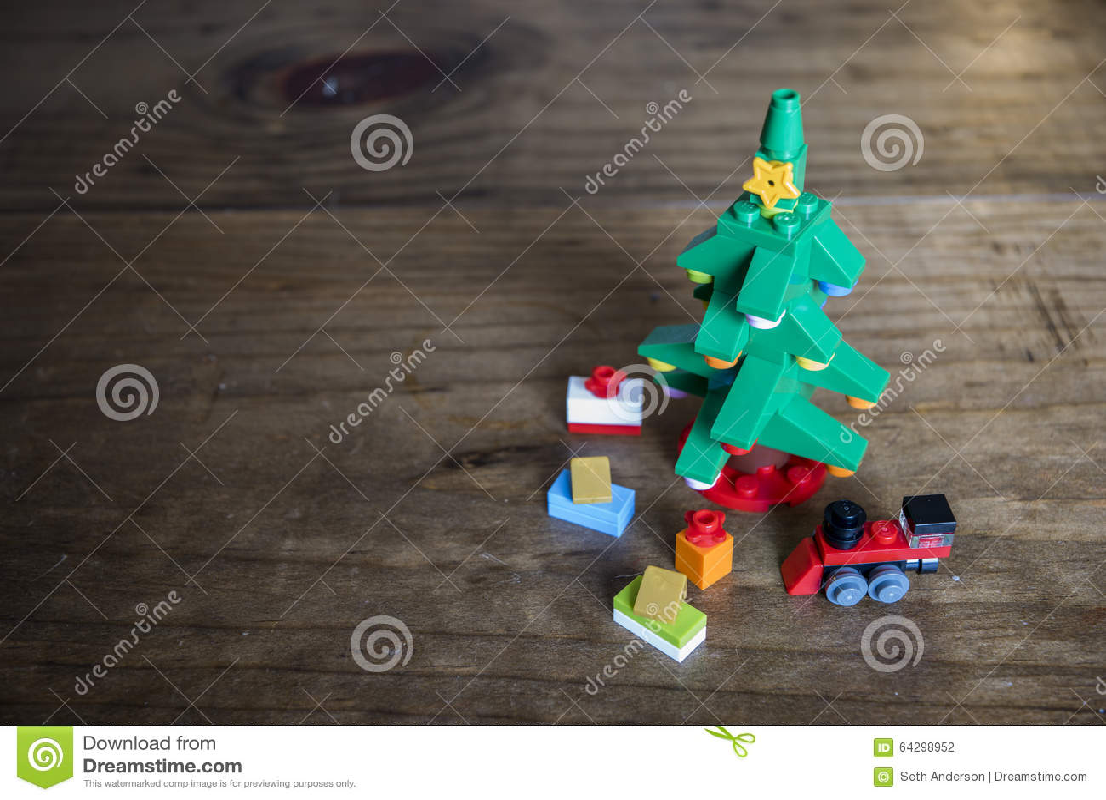 Натюрморт рождественской елки блока игрушки