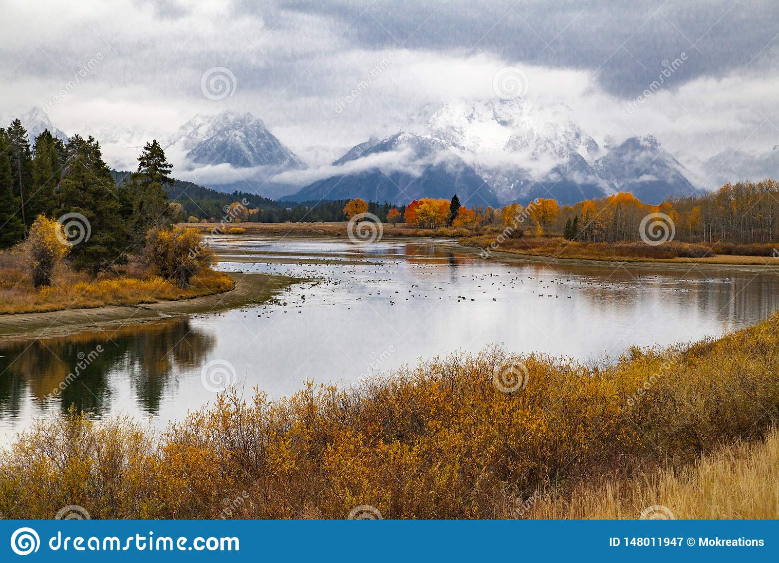 Национальный парк Teton