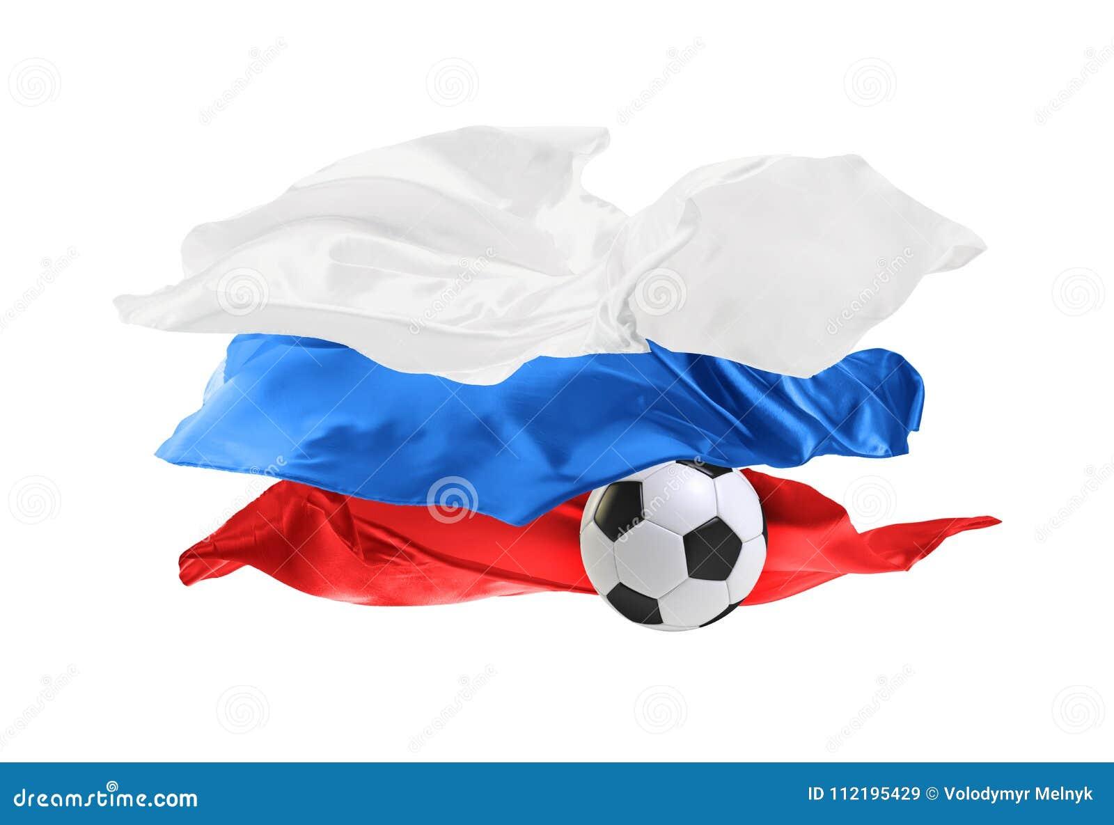 Национальный флаг России Кубок мира ФИФА Россия 2018