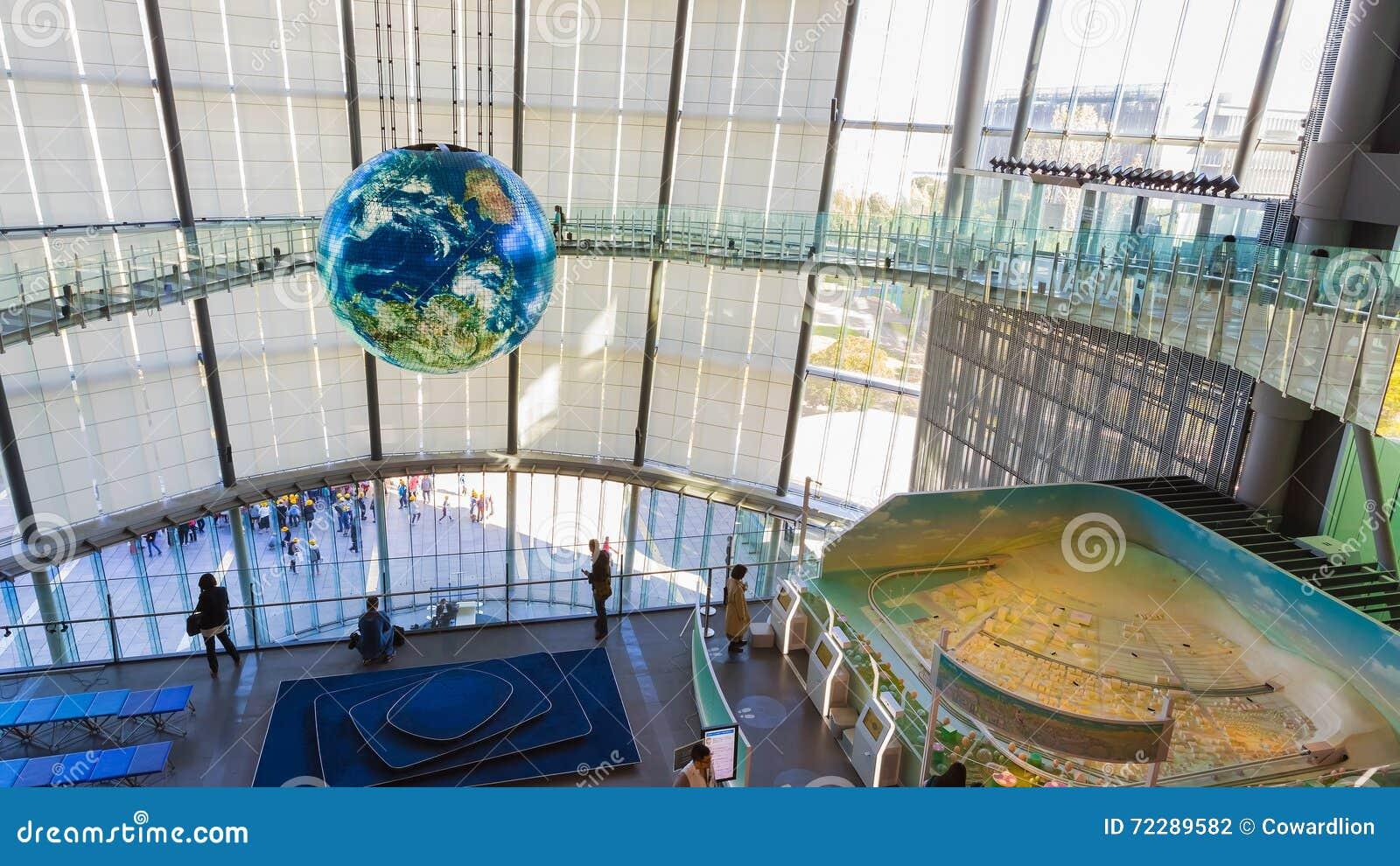 Download Национальный музей вытекая вытекая науки и нововведения в Odaiba, токио Редакционное Фотография - изображение насчитывающей наука, пепельнообразные: 72289582