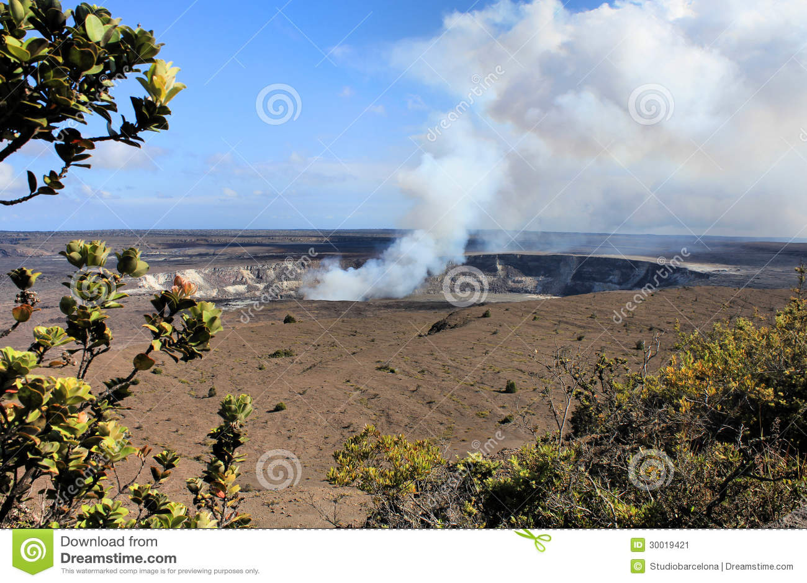 Вулкан Гавайи