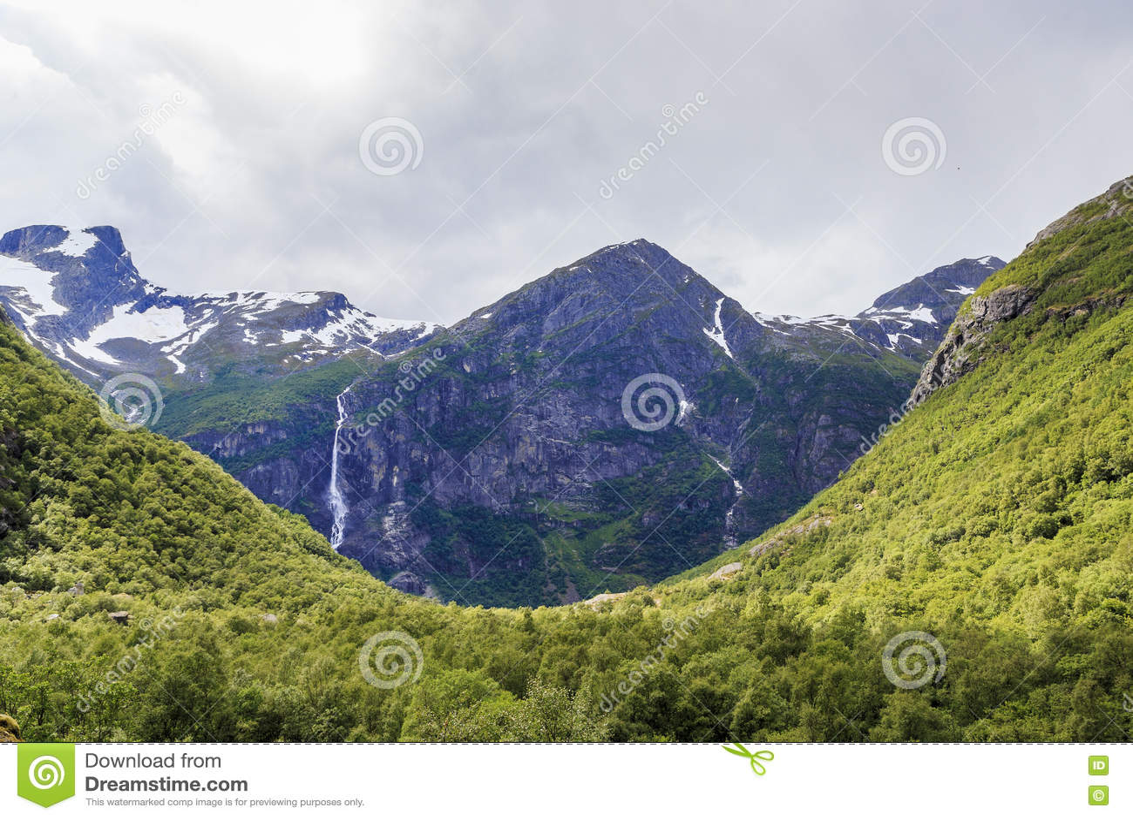 Национальный парк Jostedalsbreen, Норвегия