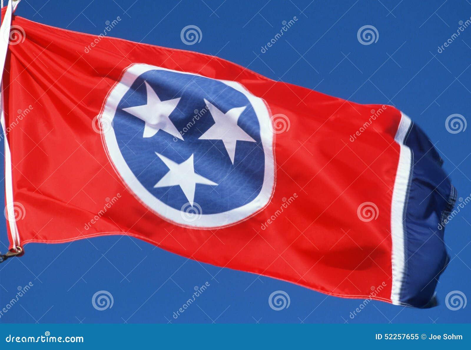 Национальный флаг Теннесси