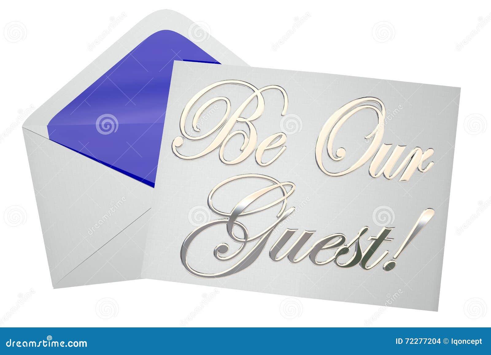 Download Наше событие приглашения гостя специальное Иллюстрация штока - иллюстрации насчитывающей встреча, гость: 72277204