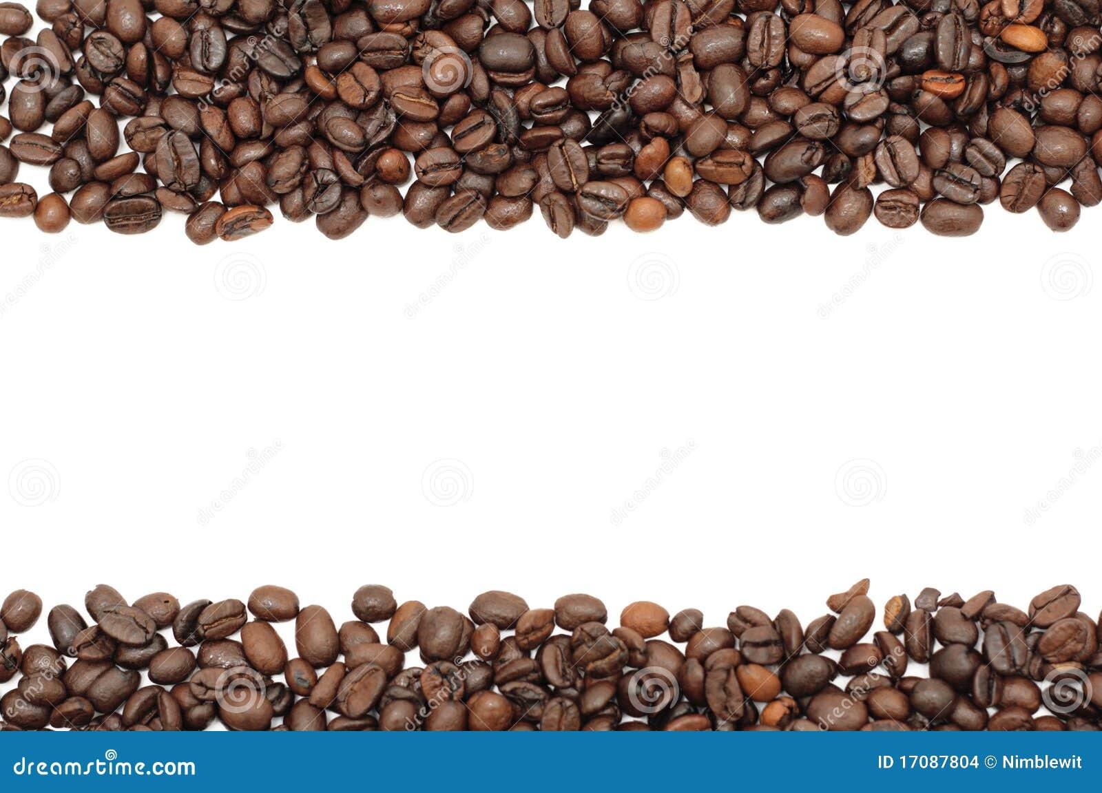 нашивки фасолей изолированные кофе