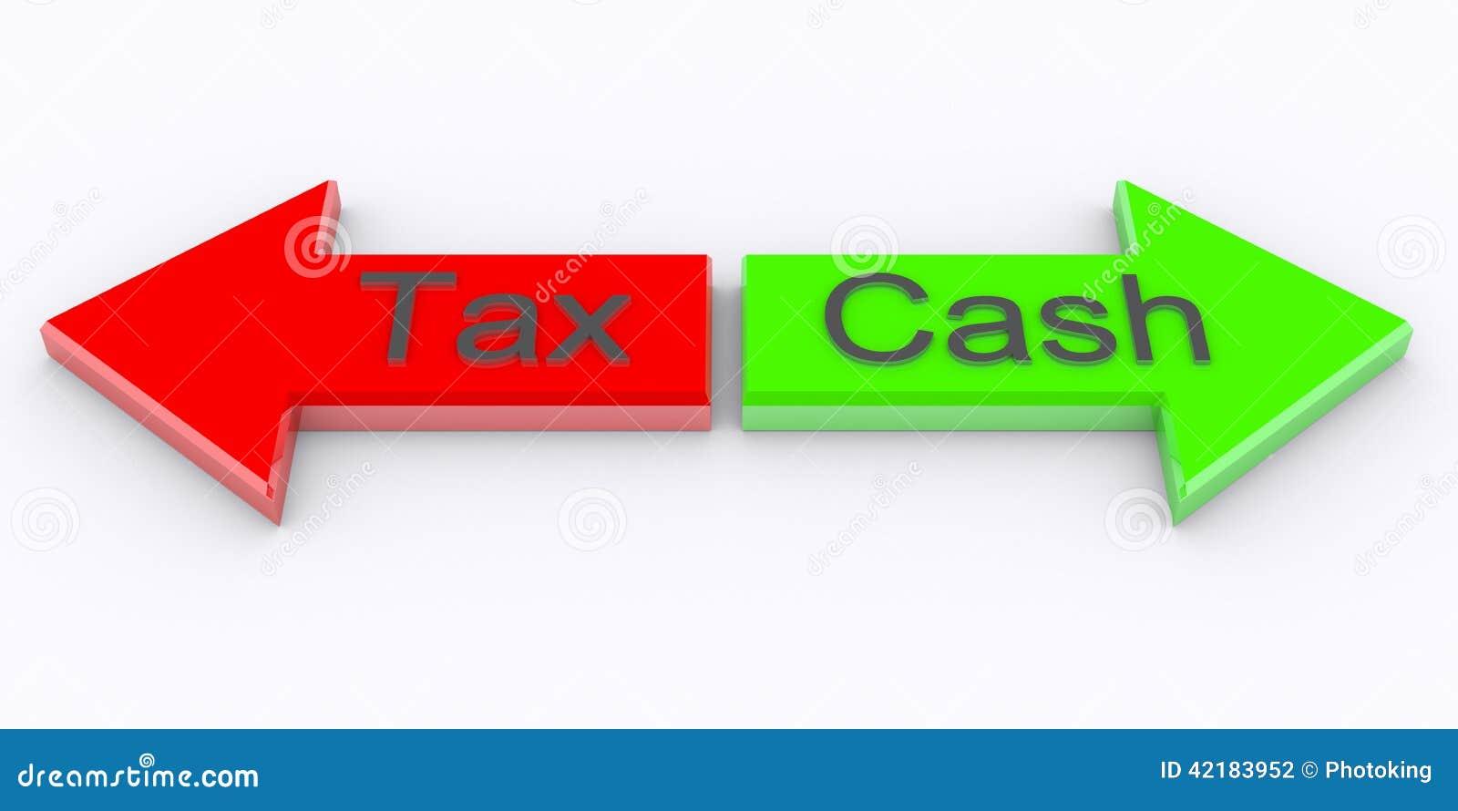 Наличные деньги налога