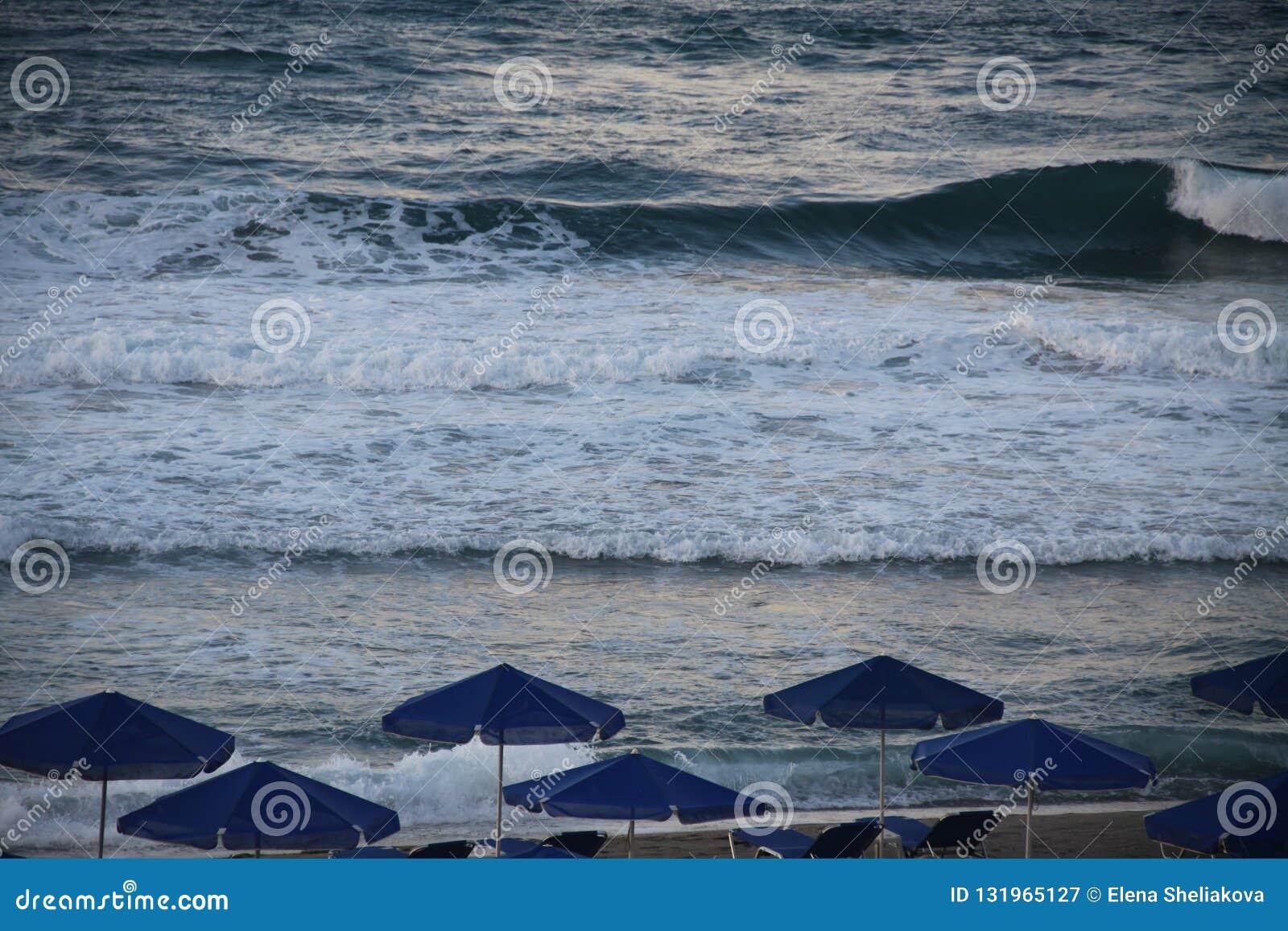 На пляже моря