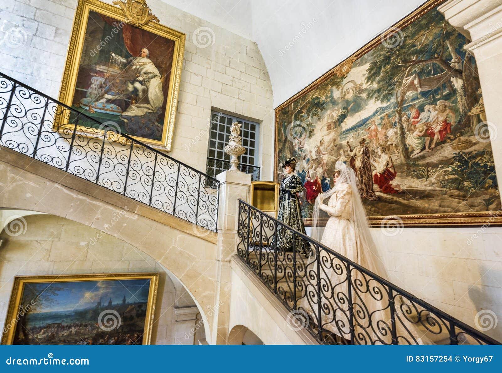 На экспозиции замка