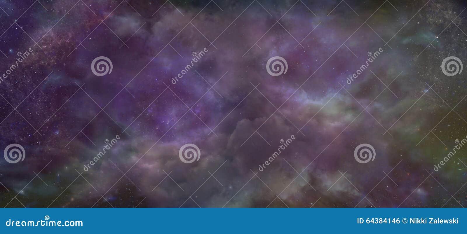 Небесная предпосылка ночного неба