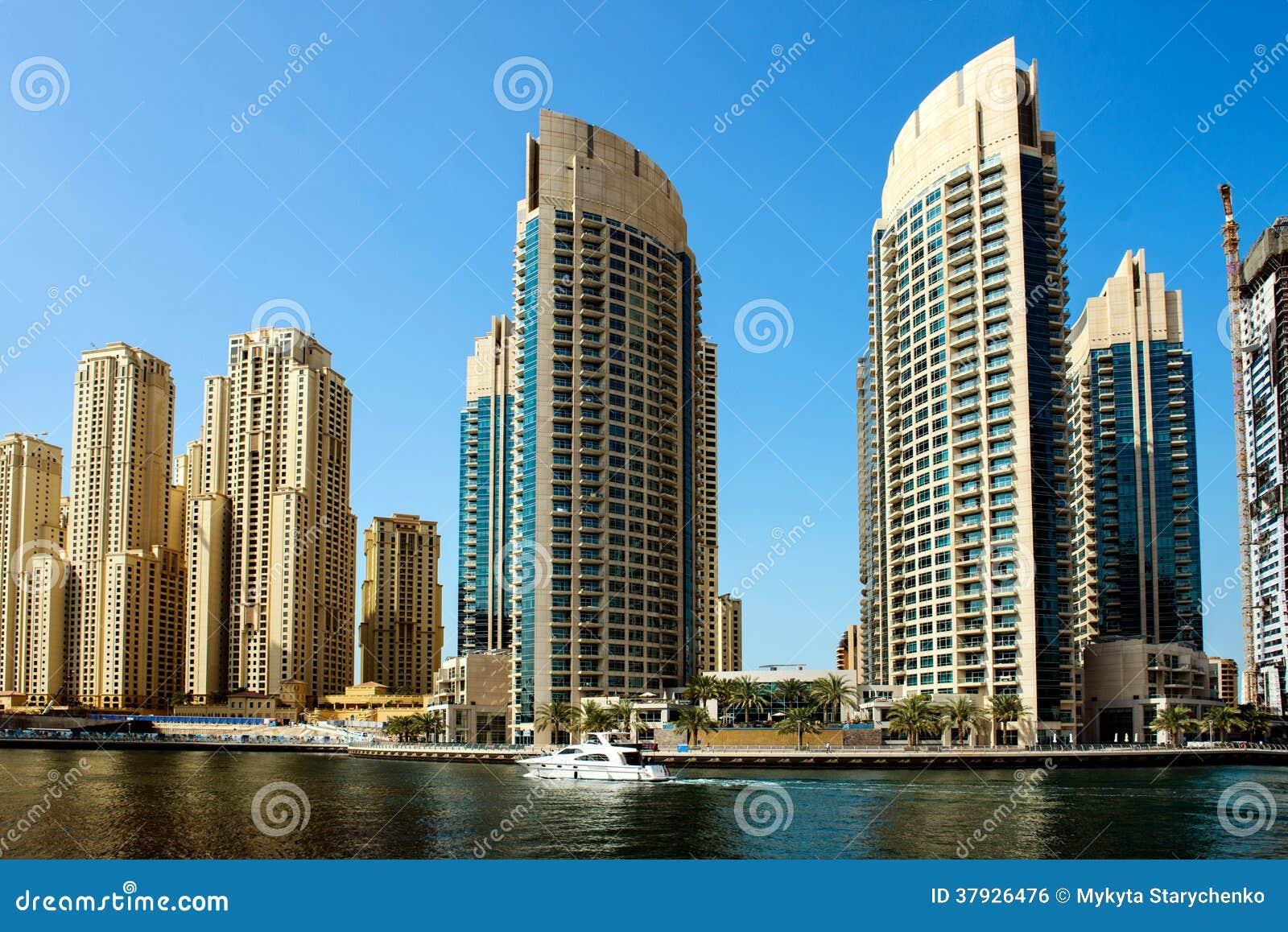 Небоскребы в Дубай