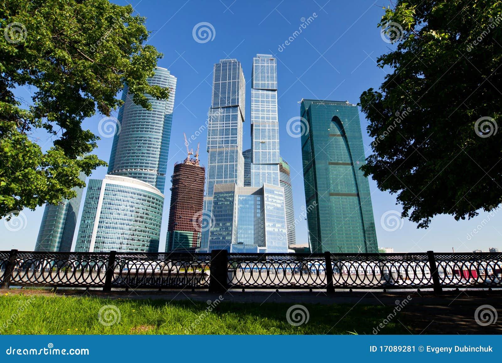 небоскребы moscow города