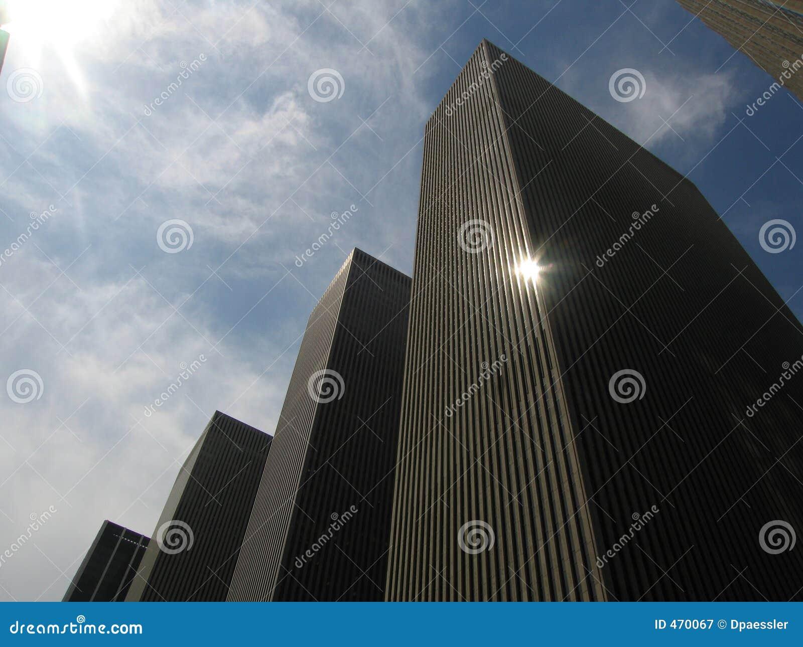 небоскреб фасадов
