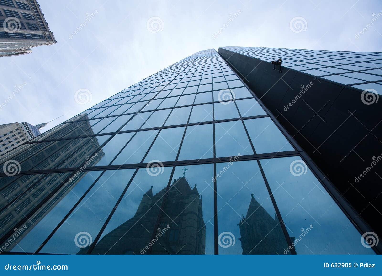 Download небоскреб стоковое изображение. изображение насчитывающей bluets - 632905