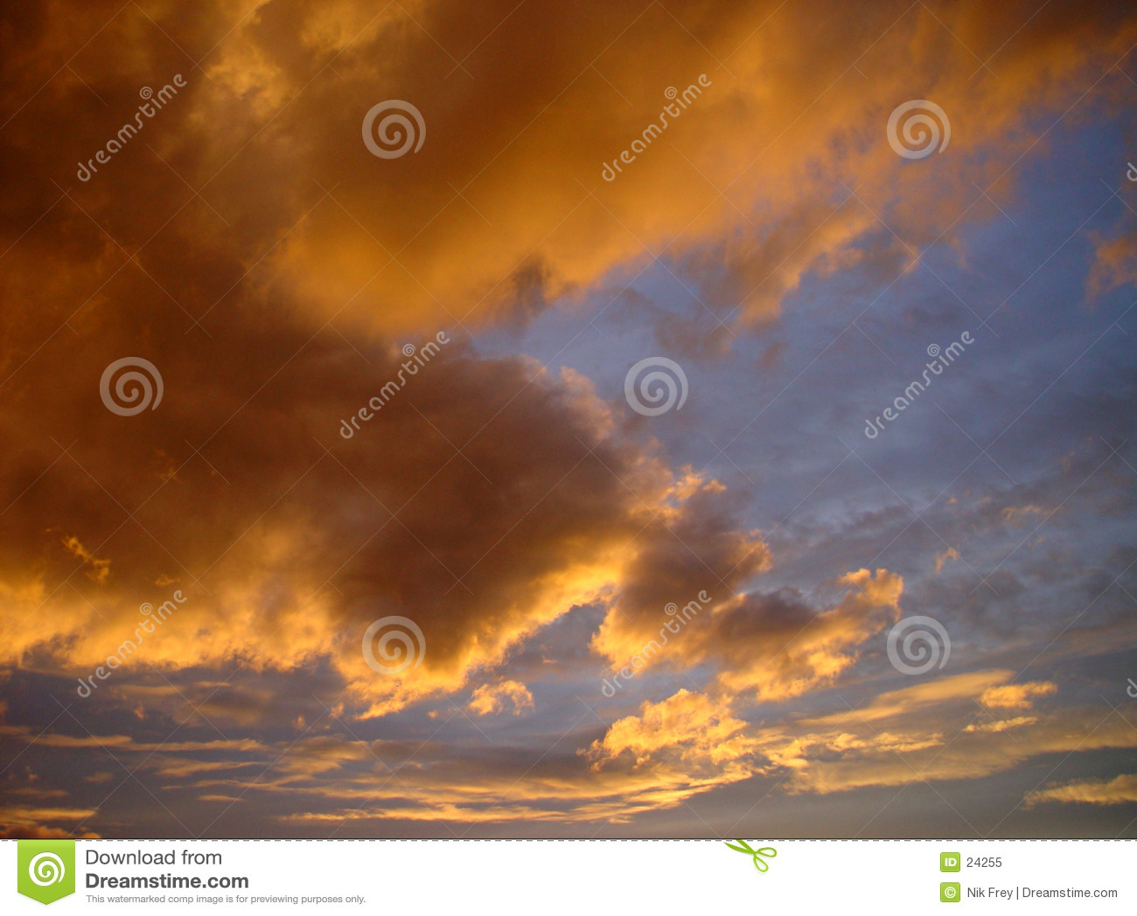 небо вечера
