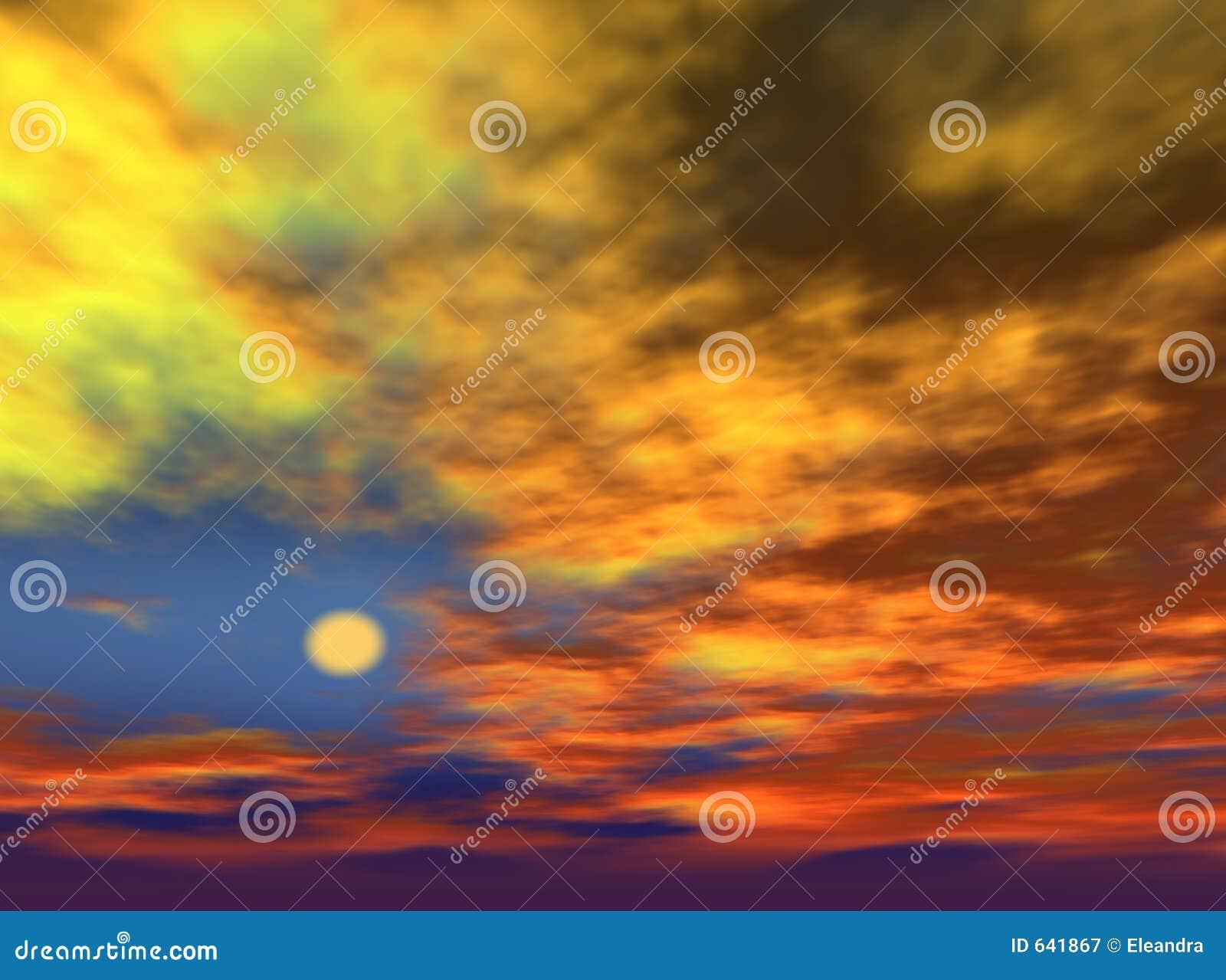 Download небо иллюстрация штока. иллюстрации насчитывающей компьютер - 641867