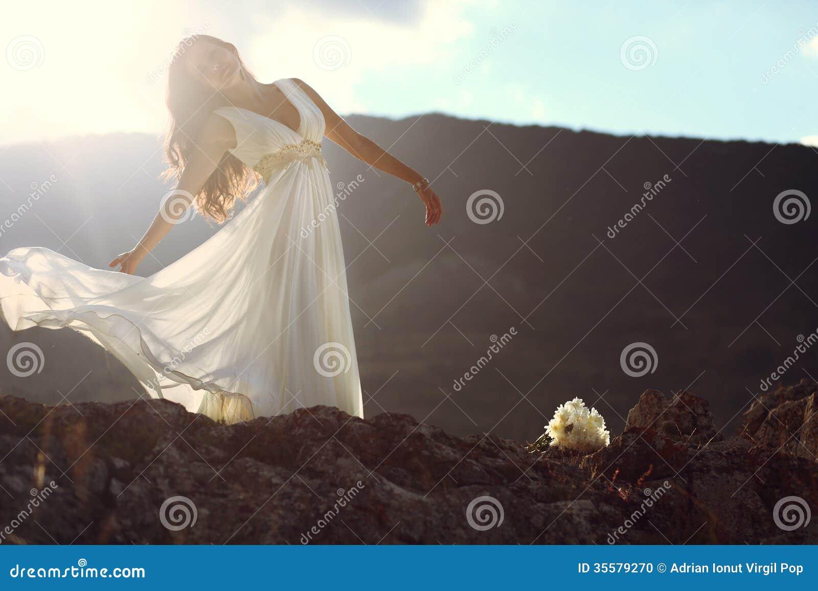 Невеста в ветре
