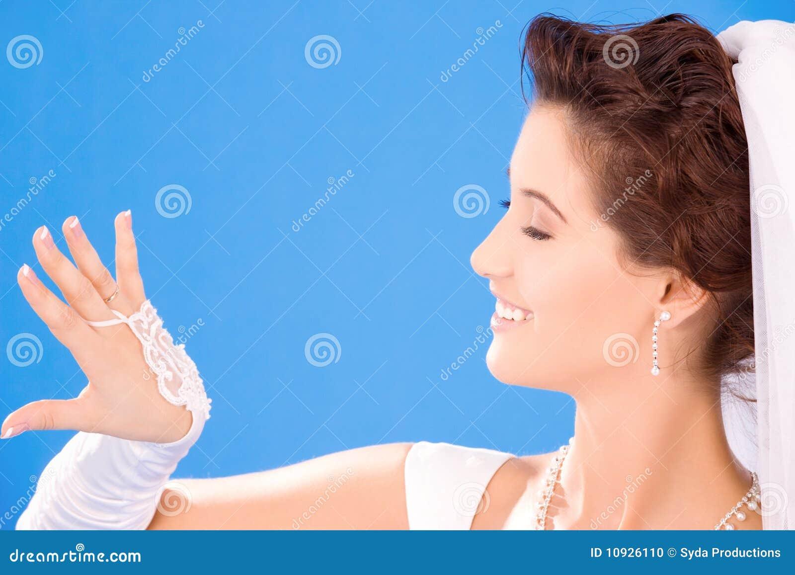 невеста счастливая