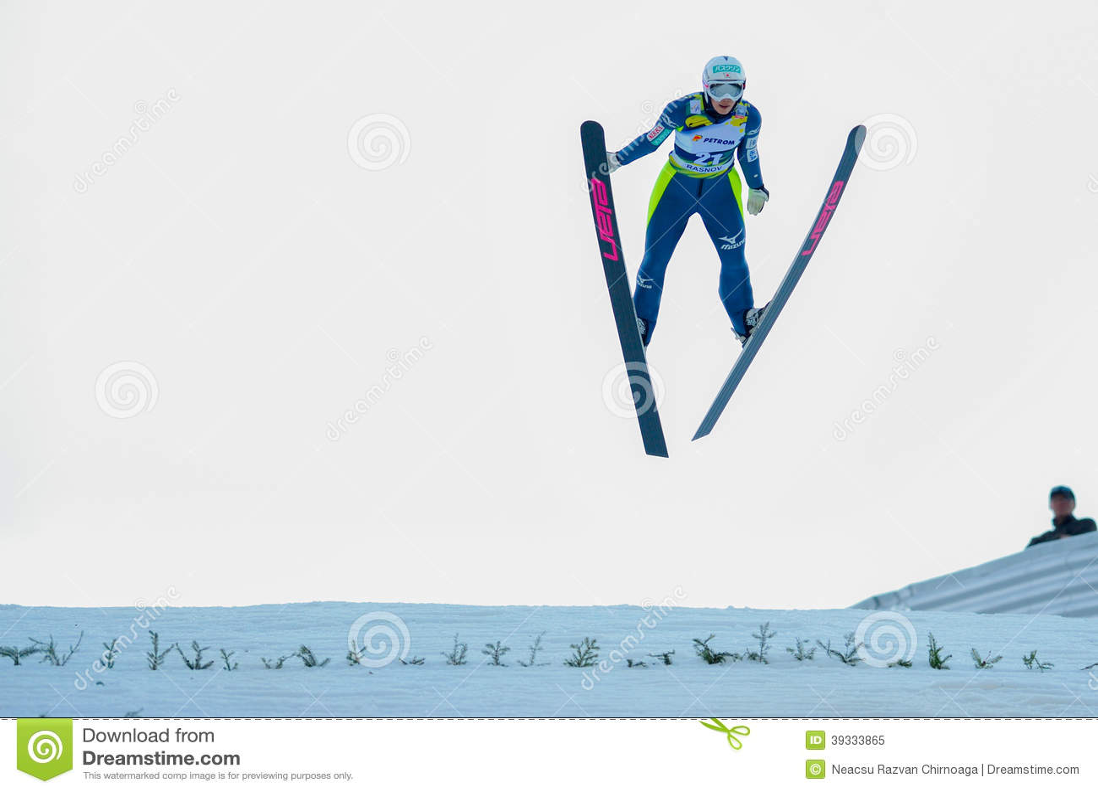 Неизвестный шлямбур лыжи