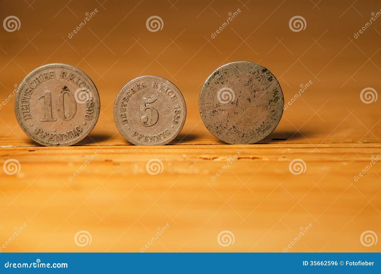 Немецкие монетки